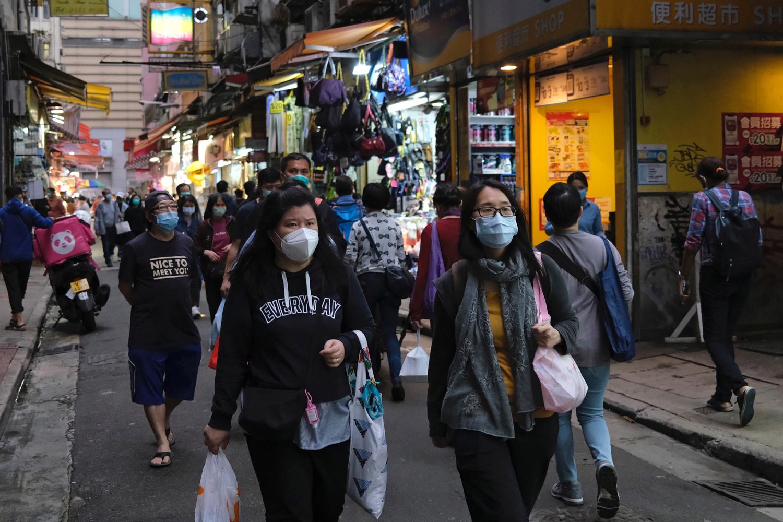A Hong Kong le 30 mars., Reuters