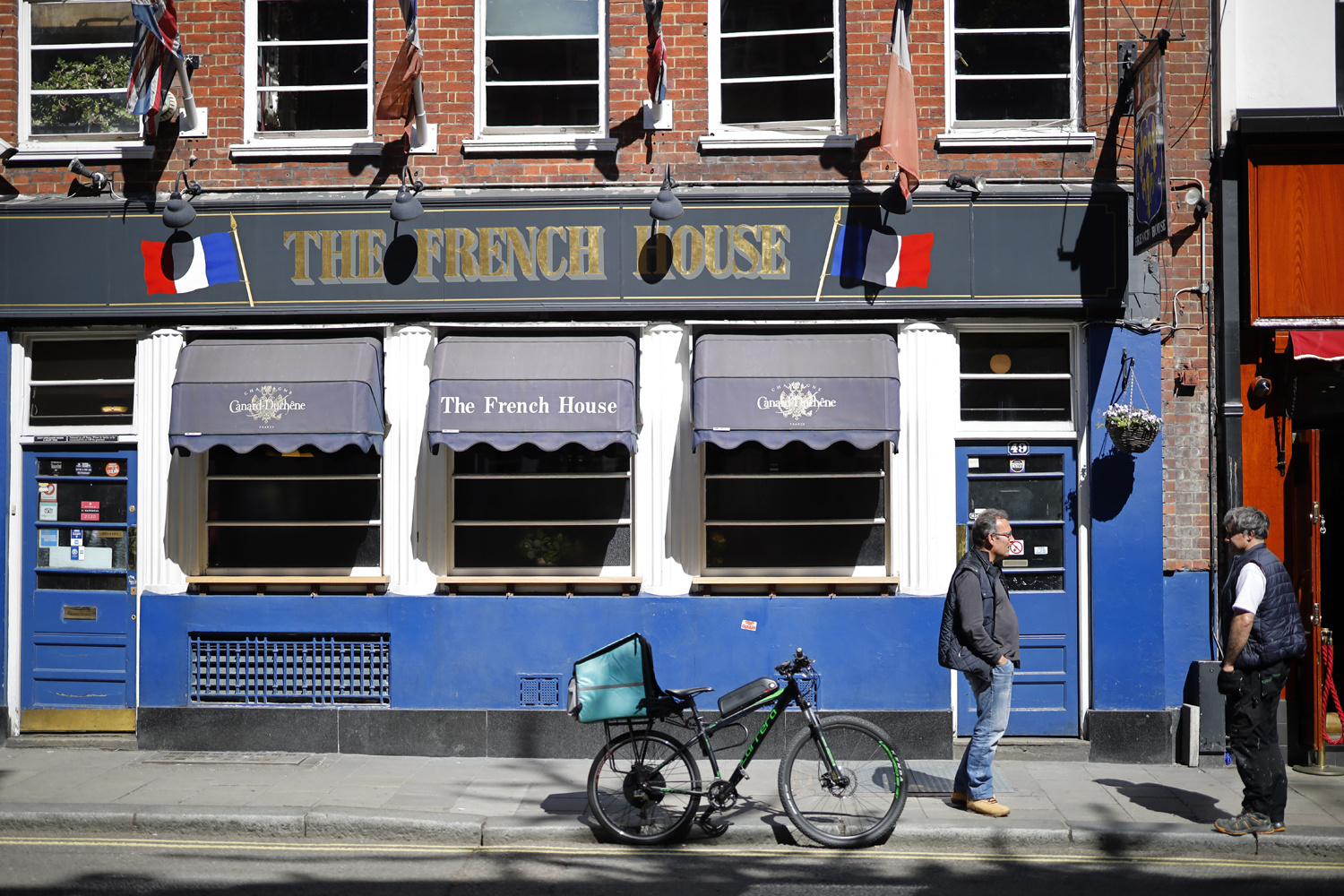 The French House, à Londres. Plus qu'un pub : une institution, AFP