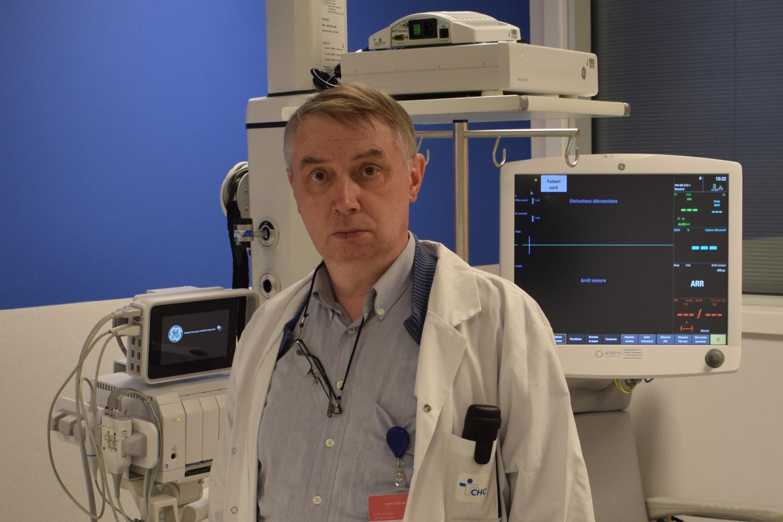 Le Dr Philippe Olivier, directeur médical du CHC Montlégia, DR