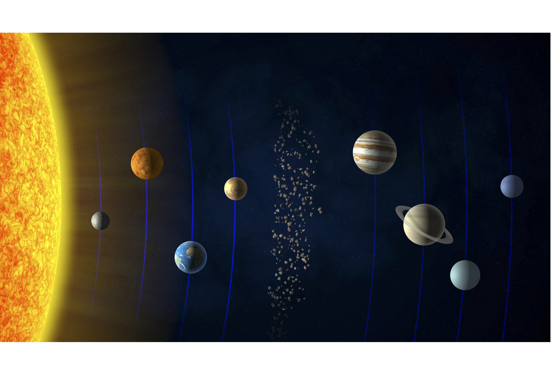 Le système solaire , Getty
