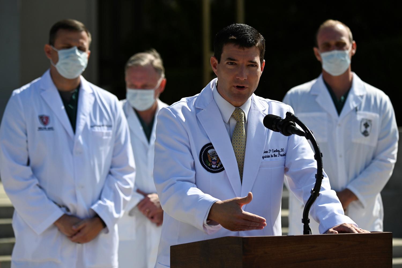 Le docteur Sean Conley., Reuters