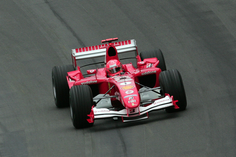 De bandenkwestie had geen gevolgen voor Ferrari, dat niet met Michelin, maar met Bridgestone reed., GETTY