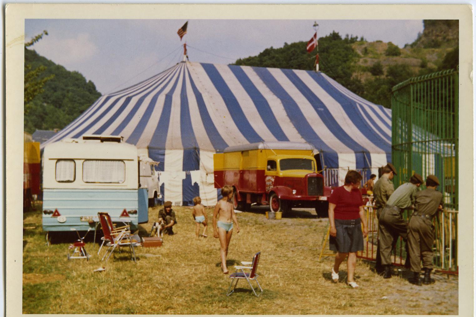 Expo over het circus in Huis van Alijn, GF