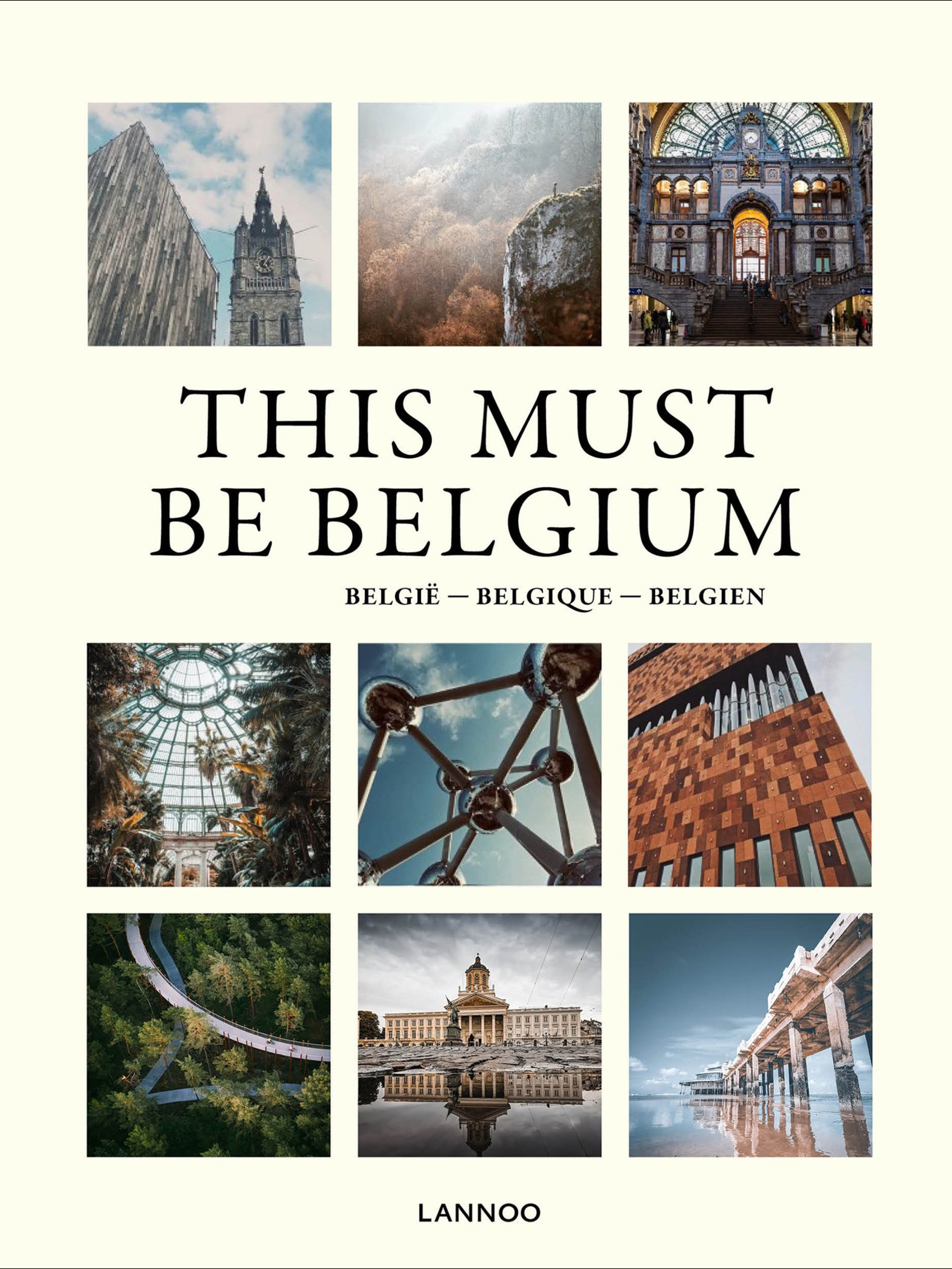 This Must Be Belgium: cover, Lannoo
