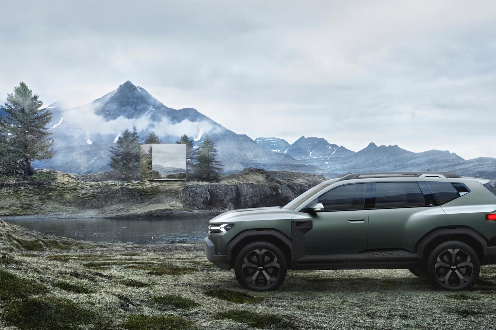 Dacia Bigster Concept, GF