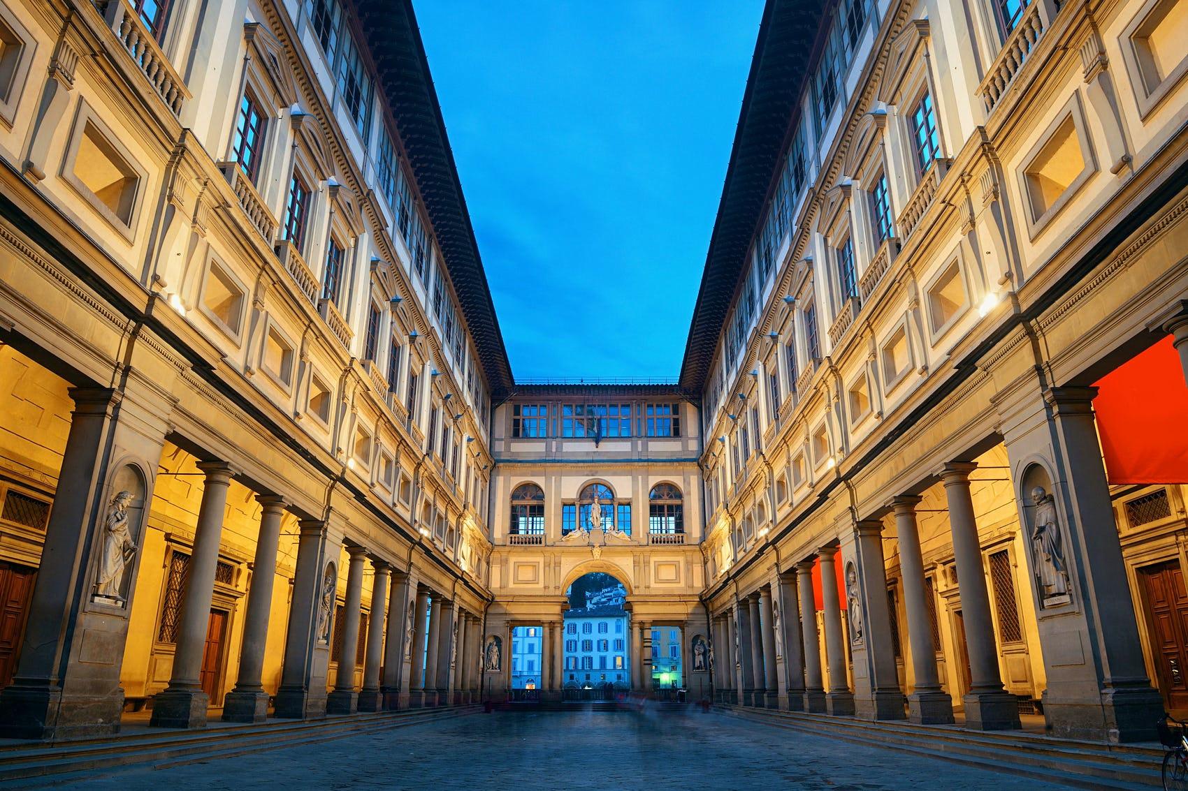 De galerij van Uffizi, Songquan Deng/Shutterstock