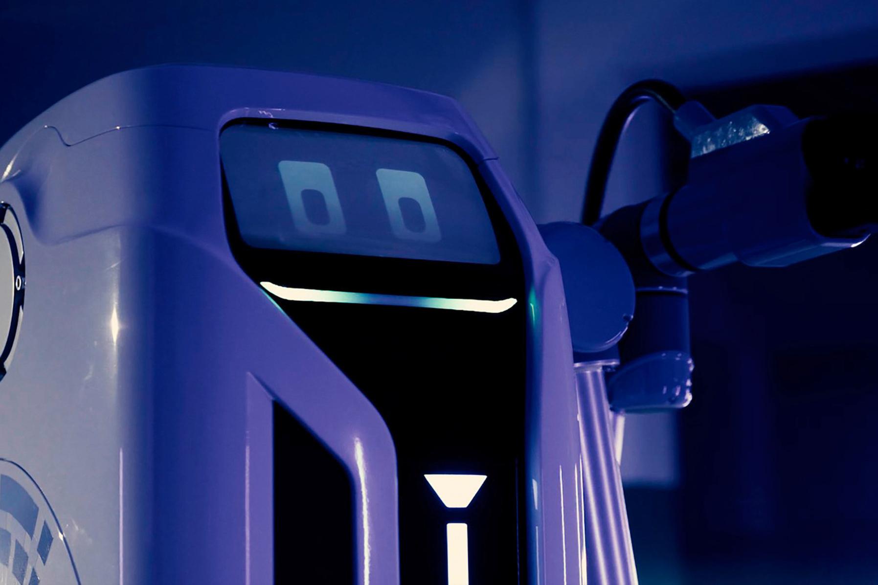 VW ontwikkelt een oplaadrobot, GF