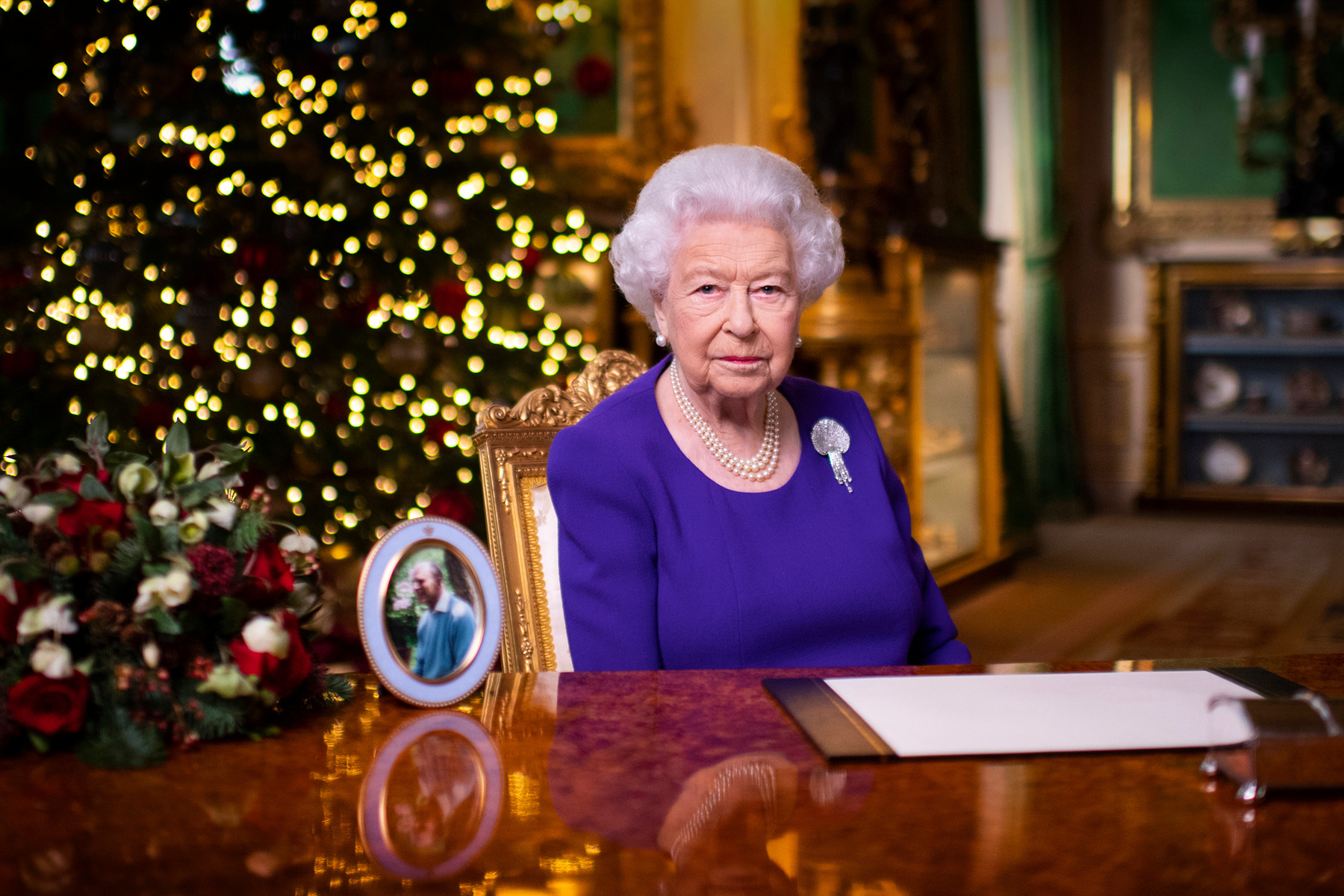 Elizabeth II, Victoria Jones / AFP
