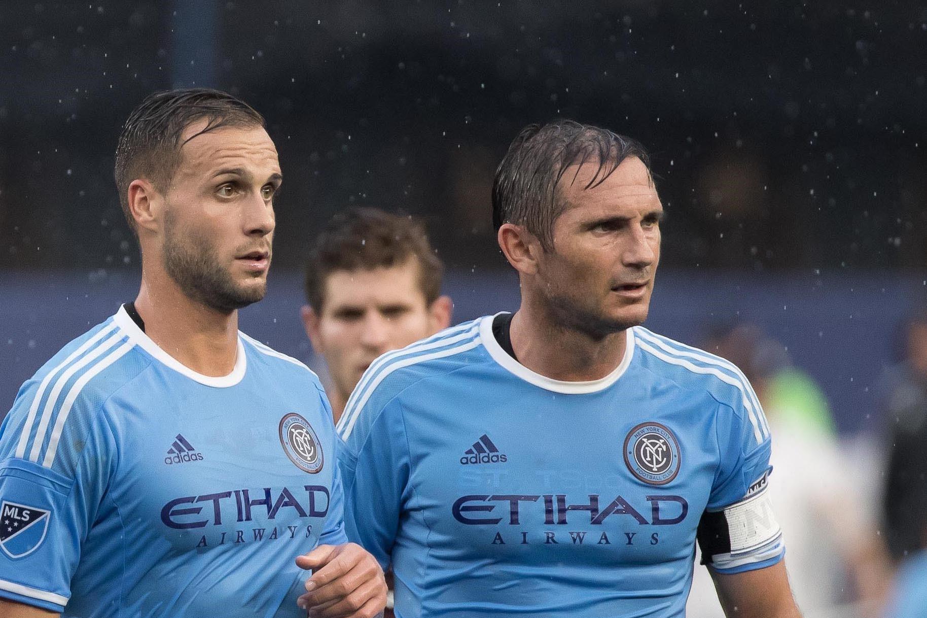 En débarquant à New York, Chanot fait équipe avec Frank Lampard, NYCFC