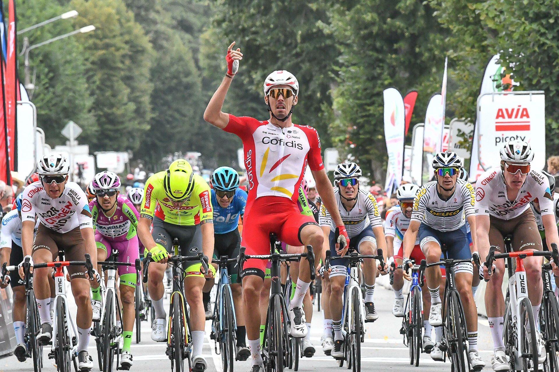 Christophe Laporte, vainqueur sur une étape du Tour du Limousin, viendra épauler Van Aert sur les classiques et Groenewegen sur les sprints massifs., belga