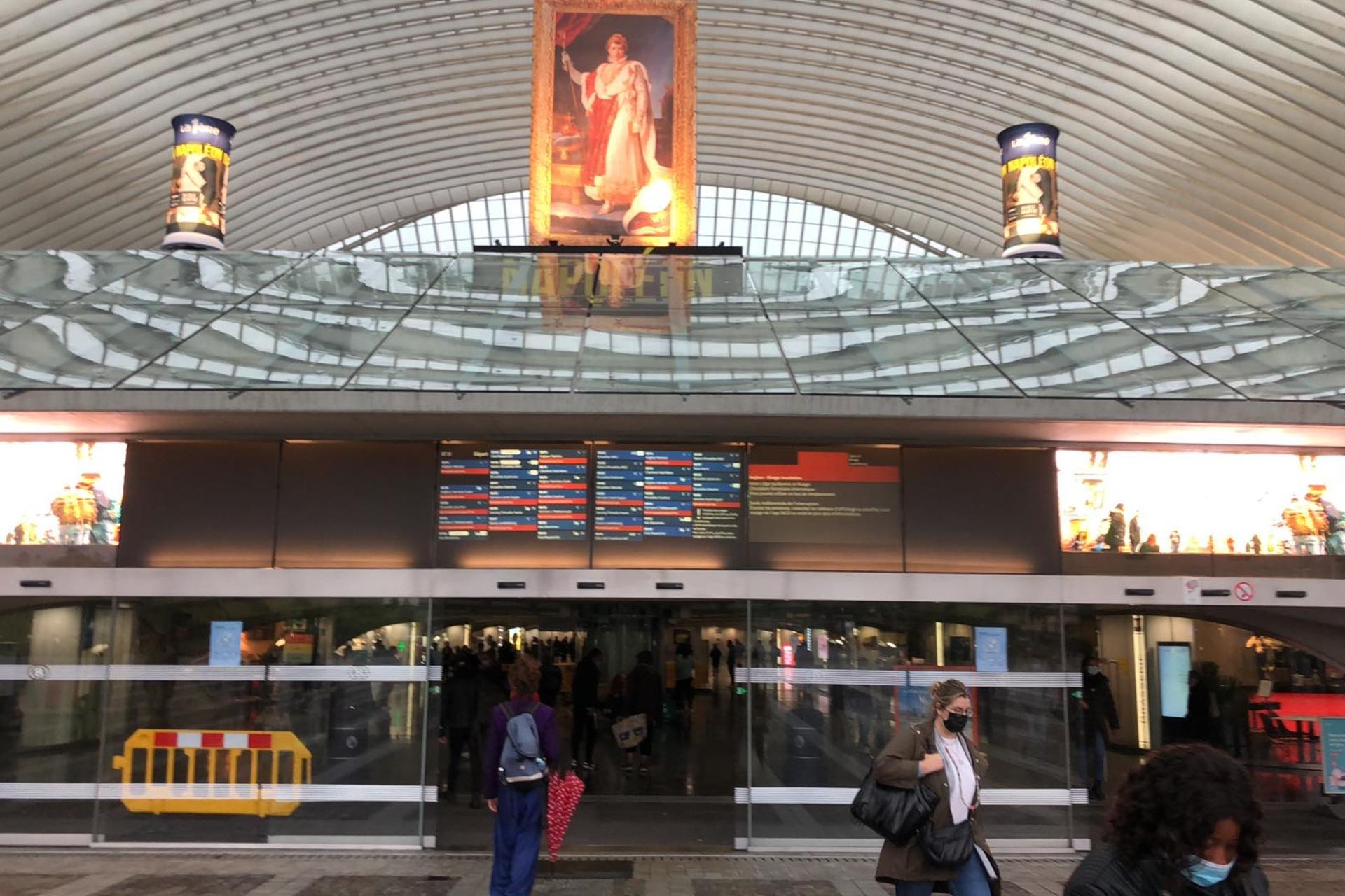 La gare des Guillemins, mercredi 14 juillet, DR