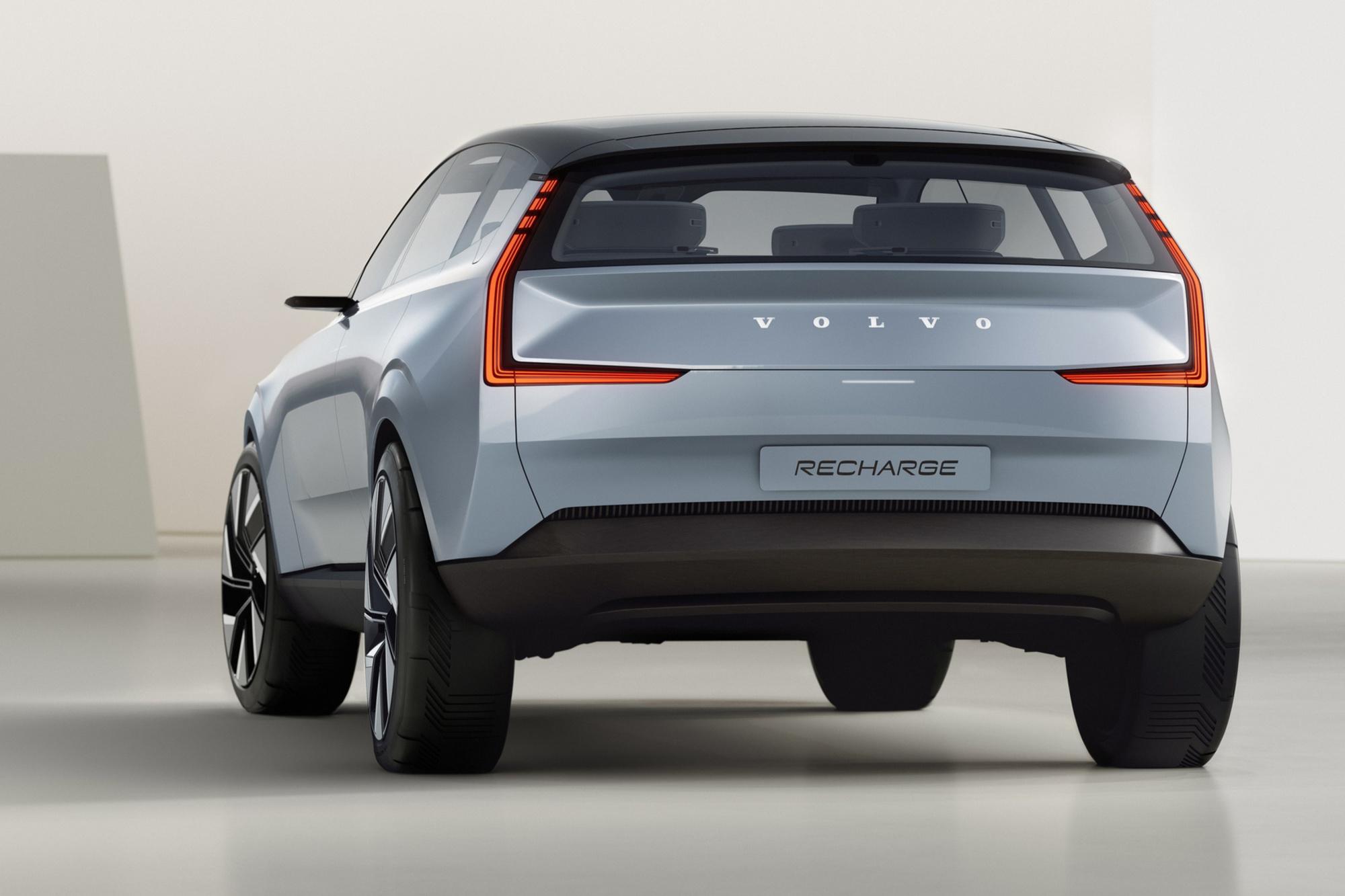Ce grand SUV au look minimaliste annonce le style de toutes les futures Volvo électriques., GF