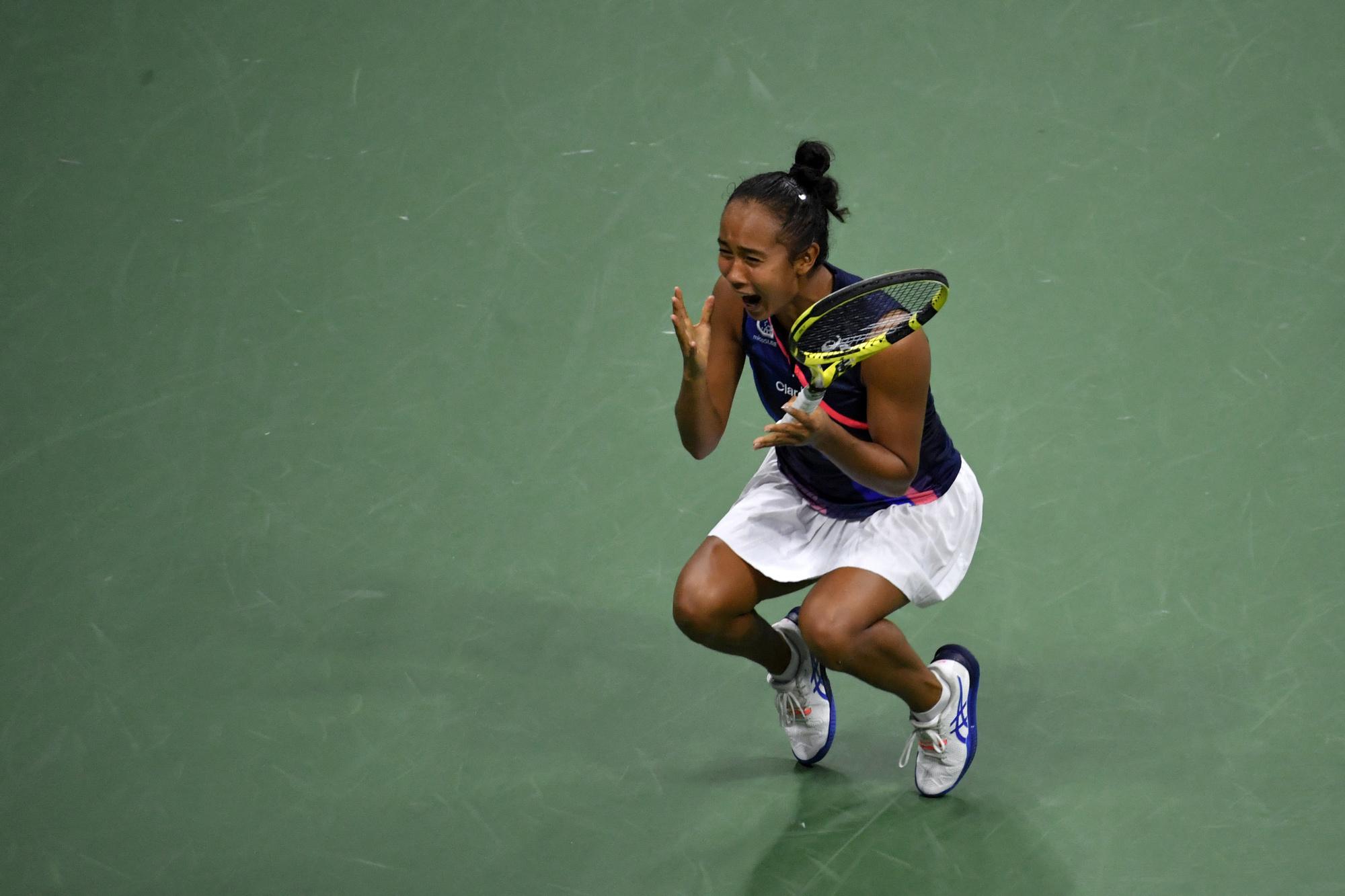 Leylah Fernandez s'offre une finale et une troisième joueuse du top 10 mondial dans cet US Open., belga