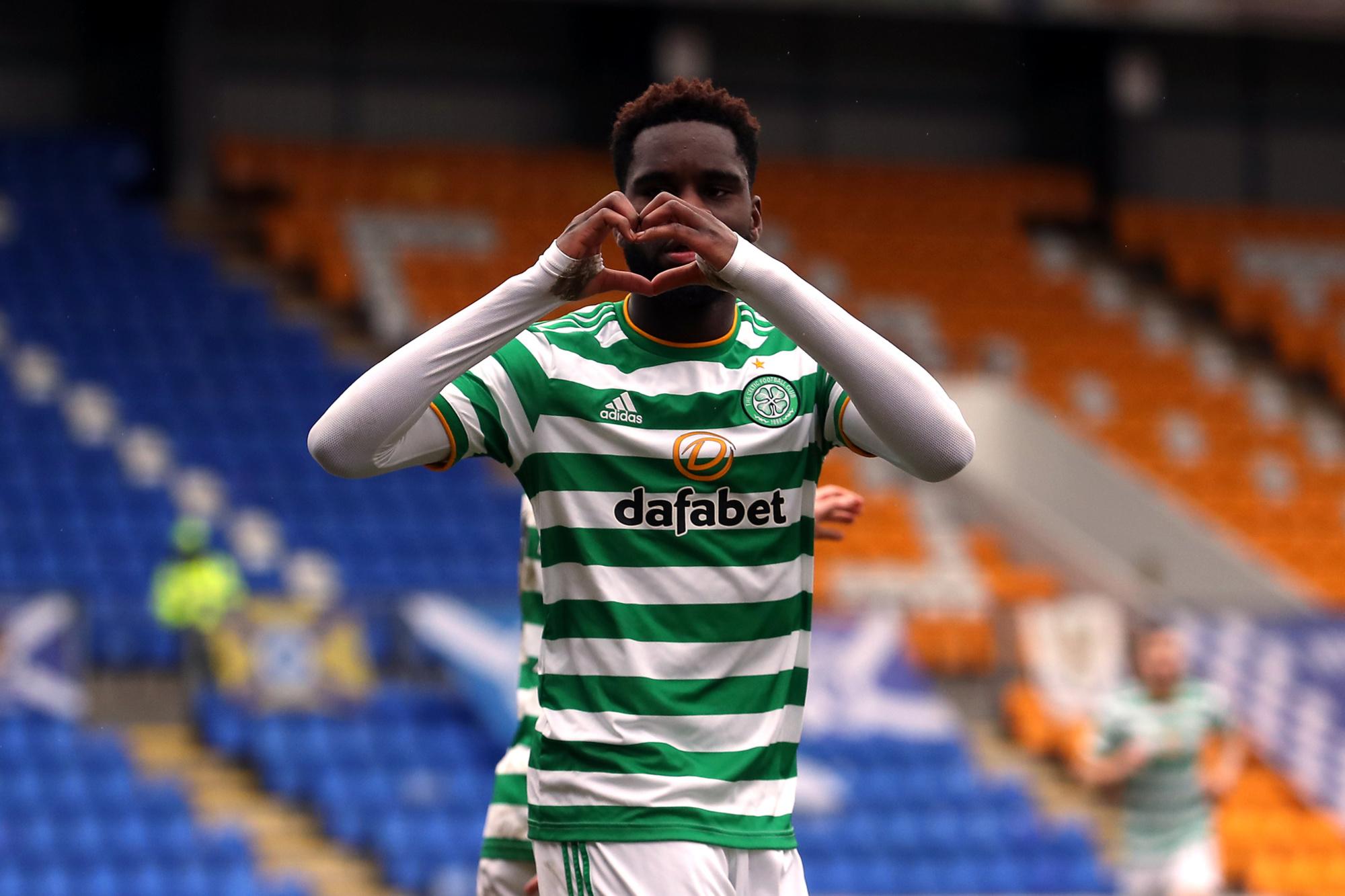 L'attaquant du Celtic sera un concurrent de plus pour Christian Benteke., belga