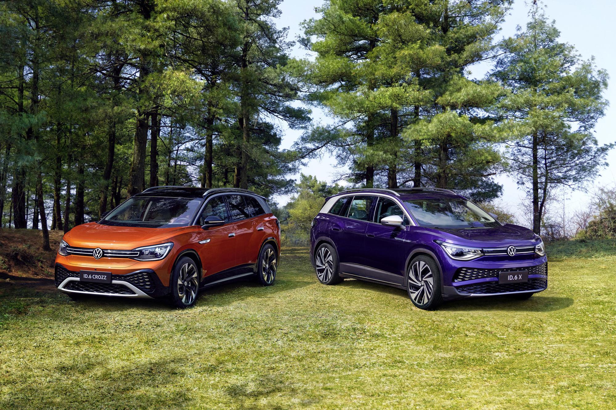 VW ontwikkelde de elektrisch aangedreven ID.6 speciaal voor de Chinese markt, .