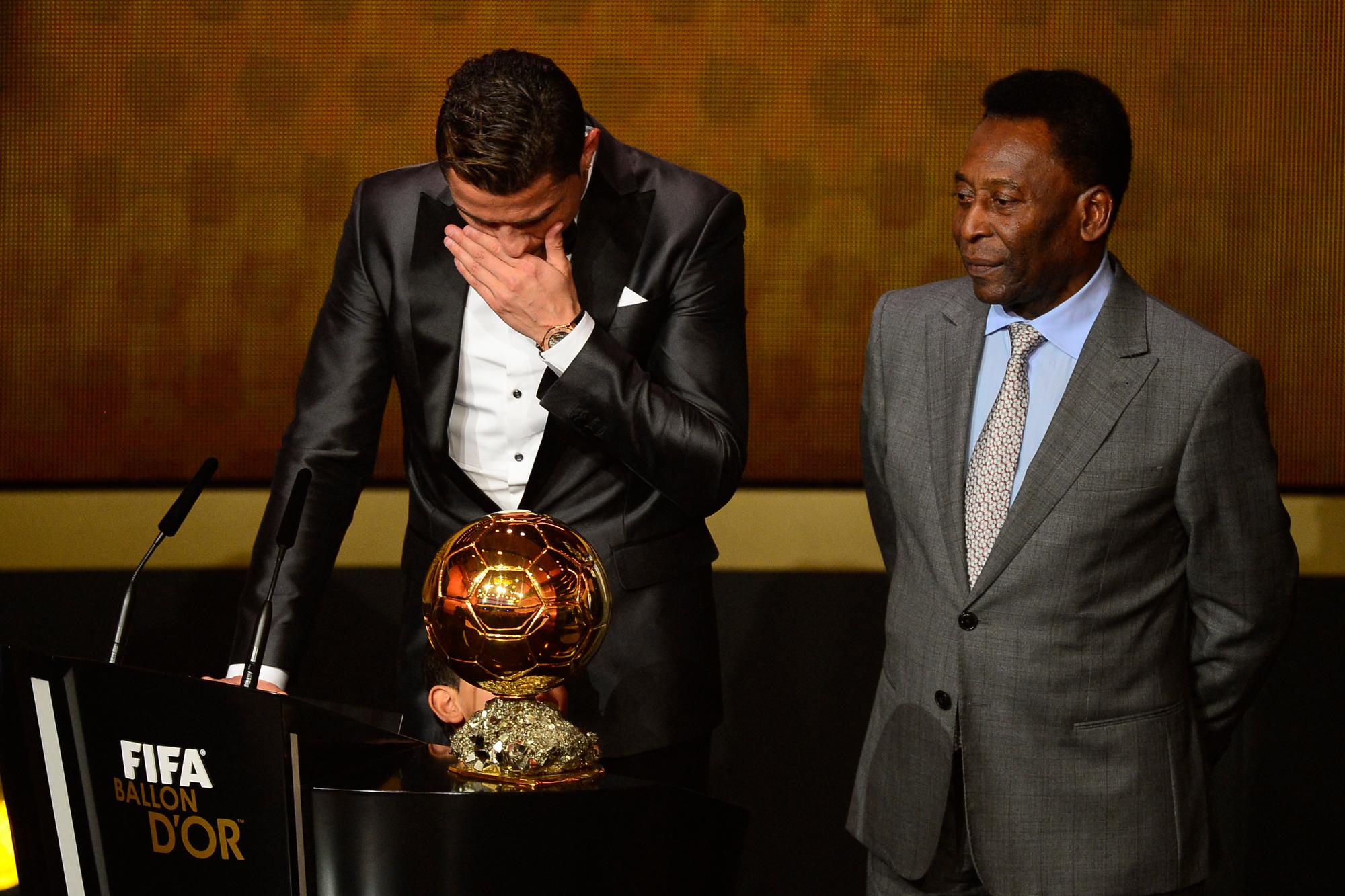 Les larmes de Cristiano n'y changeront rien. Les bons comptes font les bons amis., belga