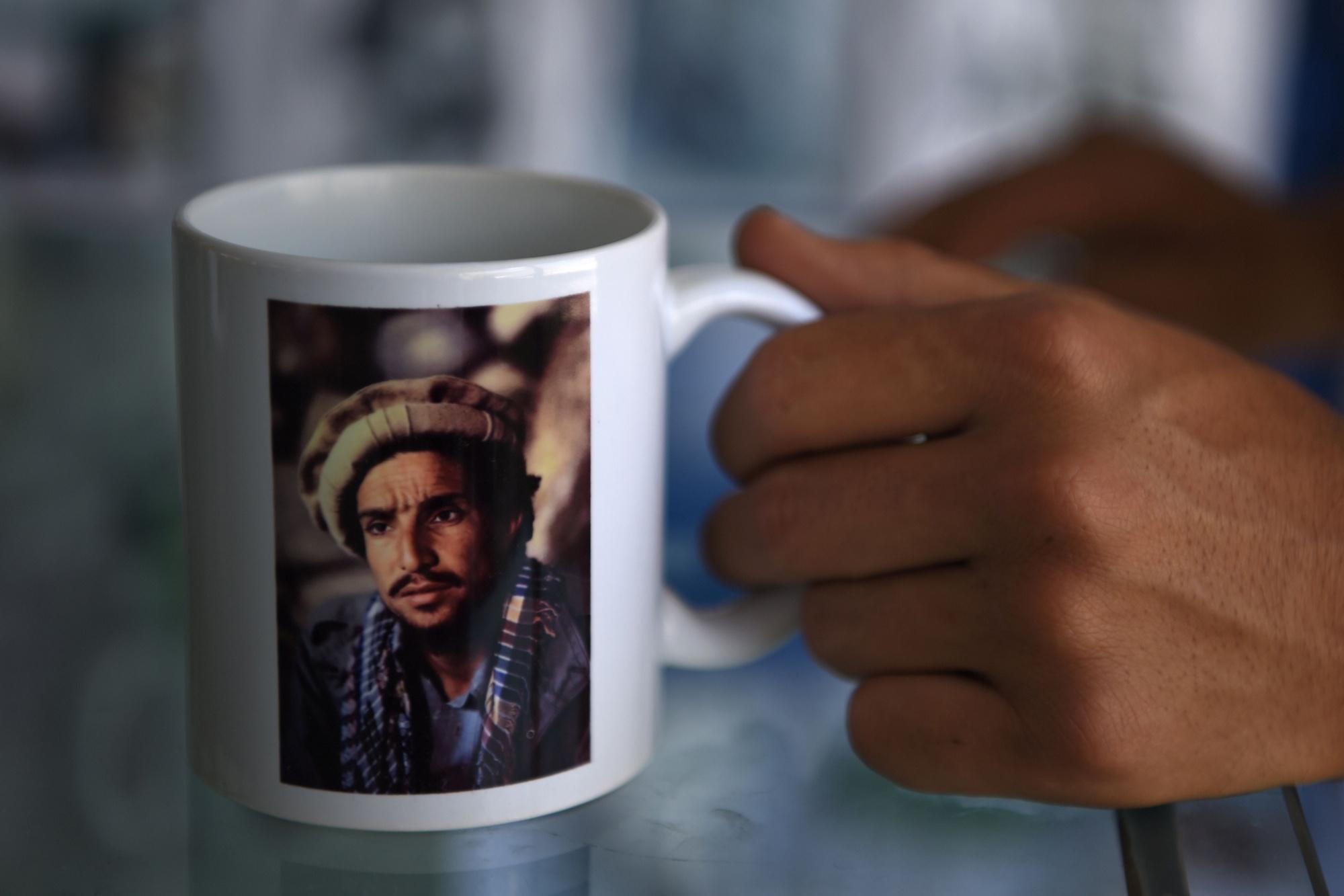 Een afbeelding van vader Massoud., Getty