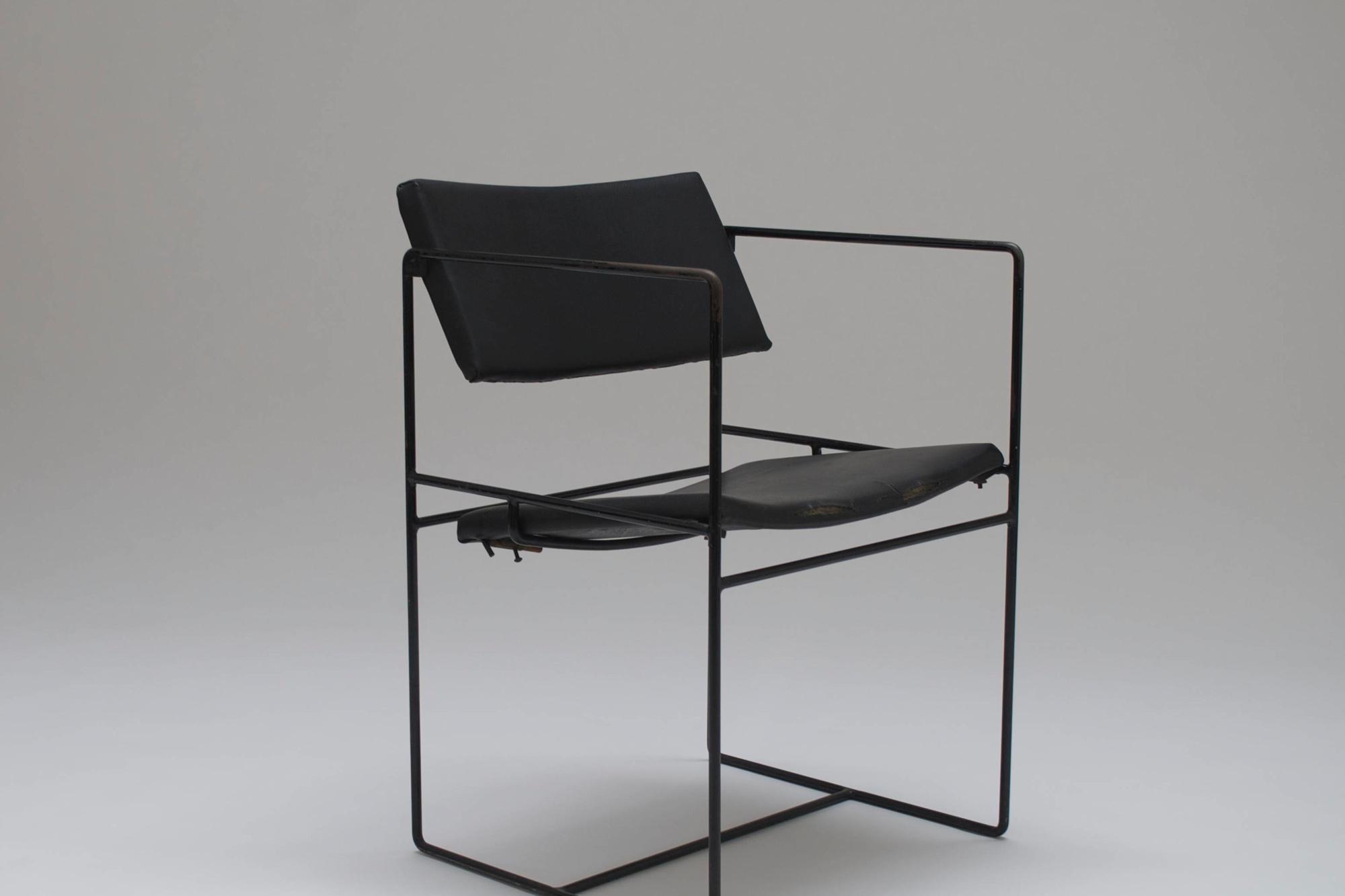 Stoel ontworpen voor Flandria 16, Alain Hens