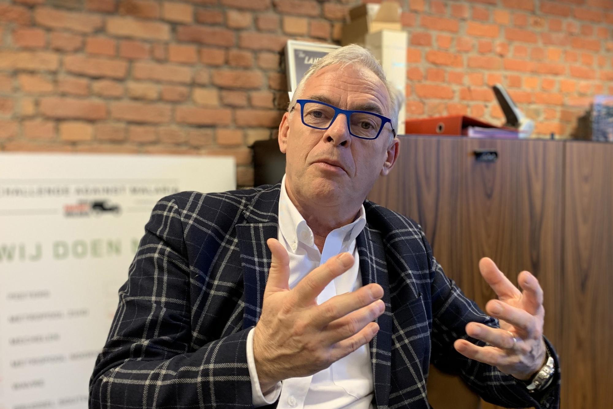 Jan Vroemans sluit nieuwe allianties niet uit om onafhankelijkheid en eigenheid van JLR veilig te stellen, Patrick Theunissen
