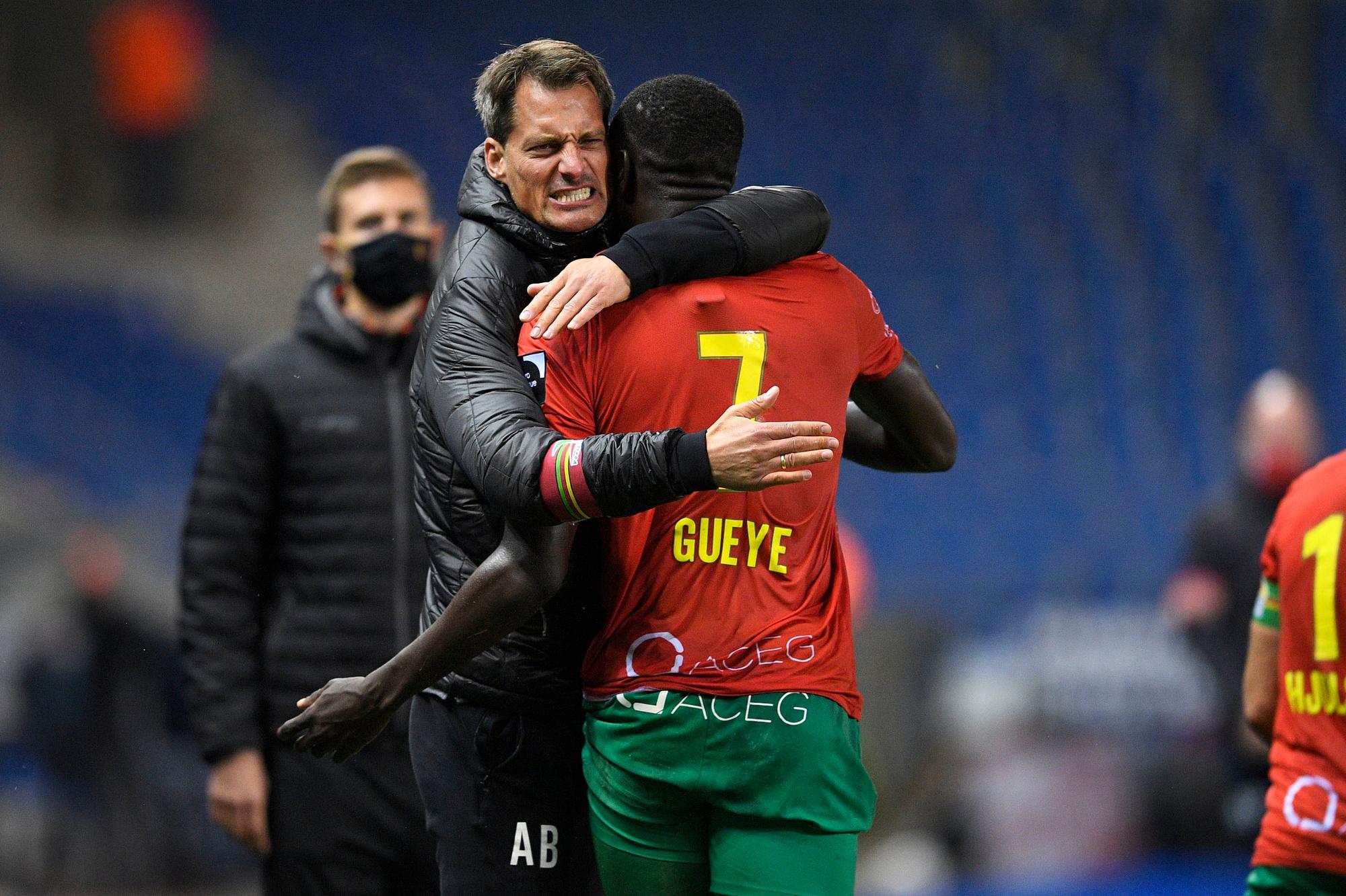 Alexander Blessin is een van de genomineerden om coach van de maand te worden., Belga Image