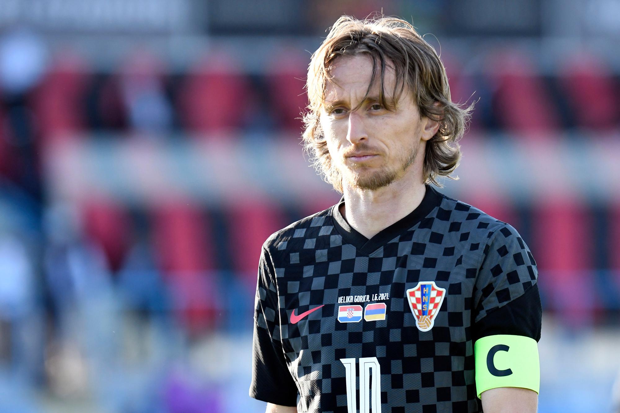 Modric is klaar voor een laatste kunststukje bij Kroatië, GETTY