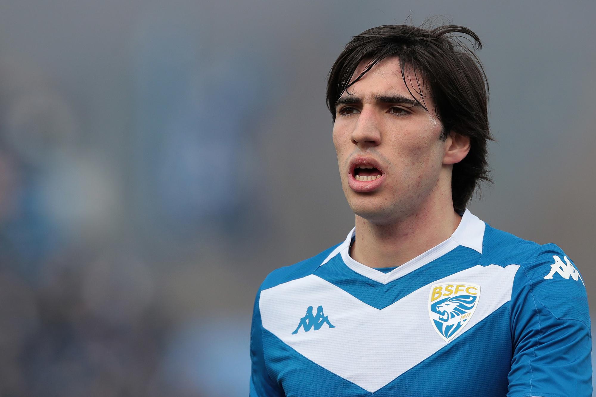 'De nieuwe Pirlo', zo wordt Sandro Tonali genoemd., GETTY
