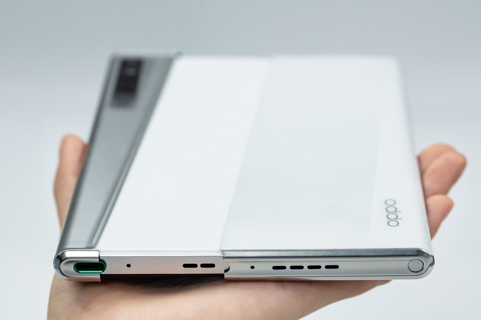 De Oppo X met uitrolbaar scherm, Oppo