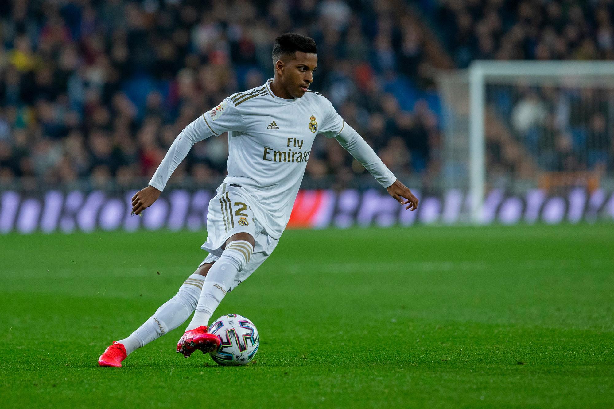 Rodrygo, een van de vele Braziliaanse jongeren bij Real Madrid, GETTY