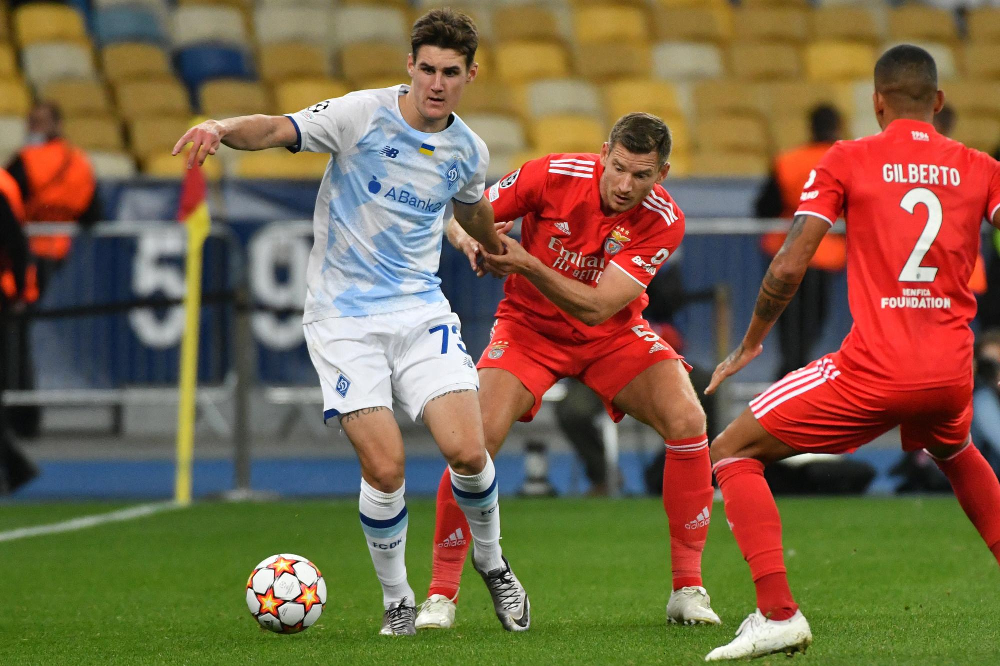 Jan Vertonghen et Benfica ont ramené un point et une clean-sheet de leur déplacement en Ukraine., belga