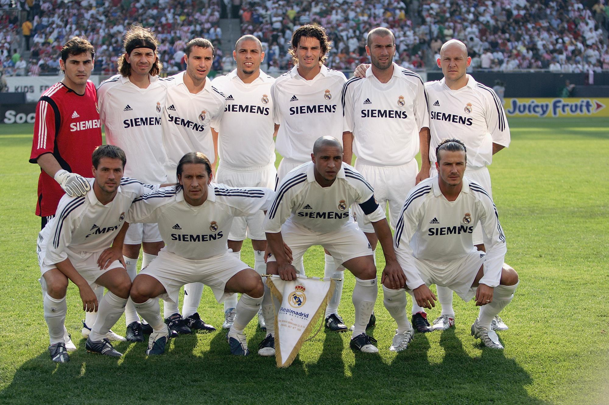 De Galácticos van Real Madrid, GETTY