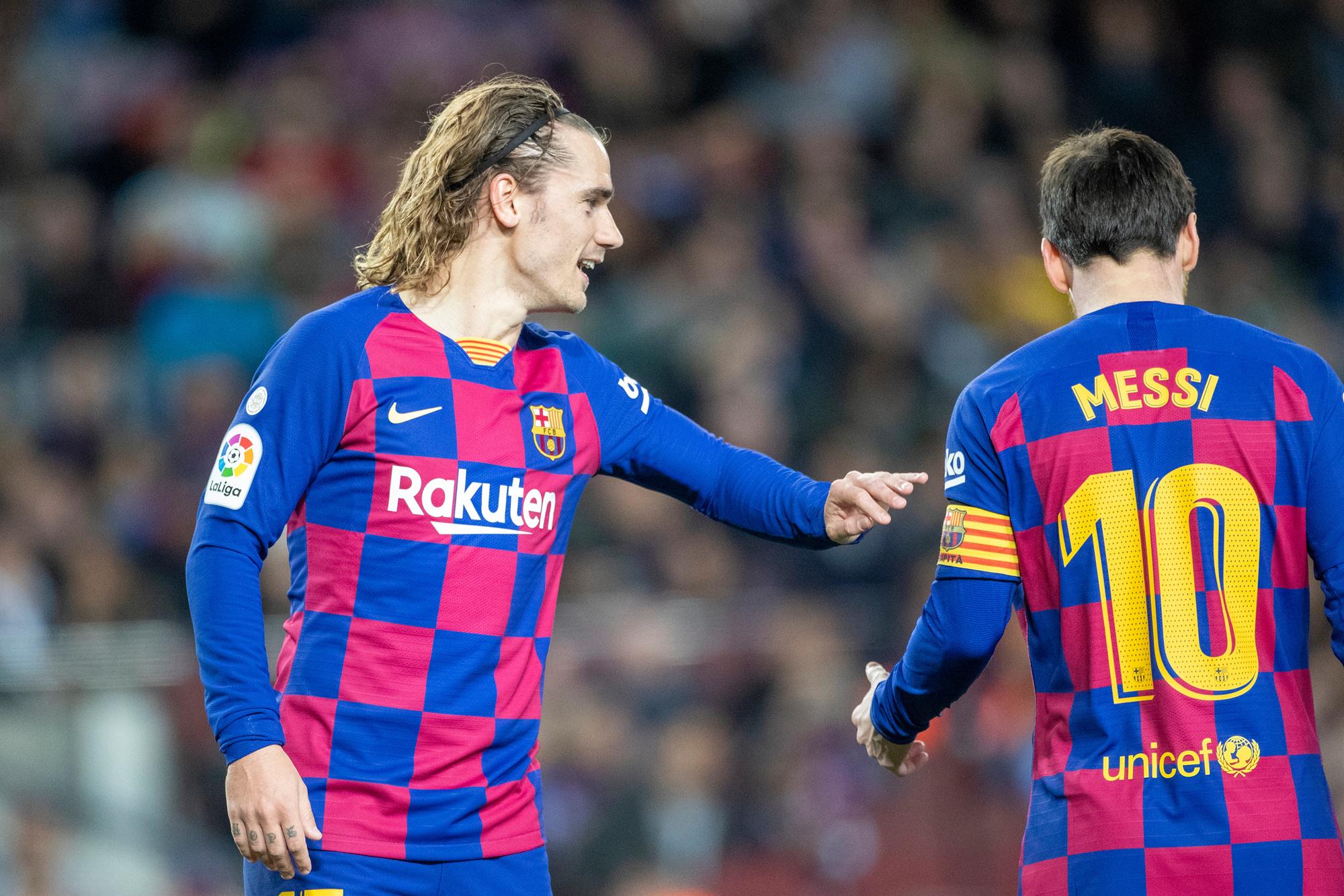 Antoine Griezmann heeft voorlopig nog geen connectie met Messi en dat is toch wel nodig om te slagen bij Barcelona, GETTY