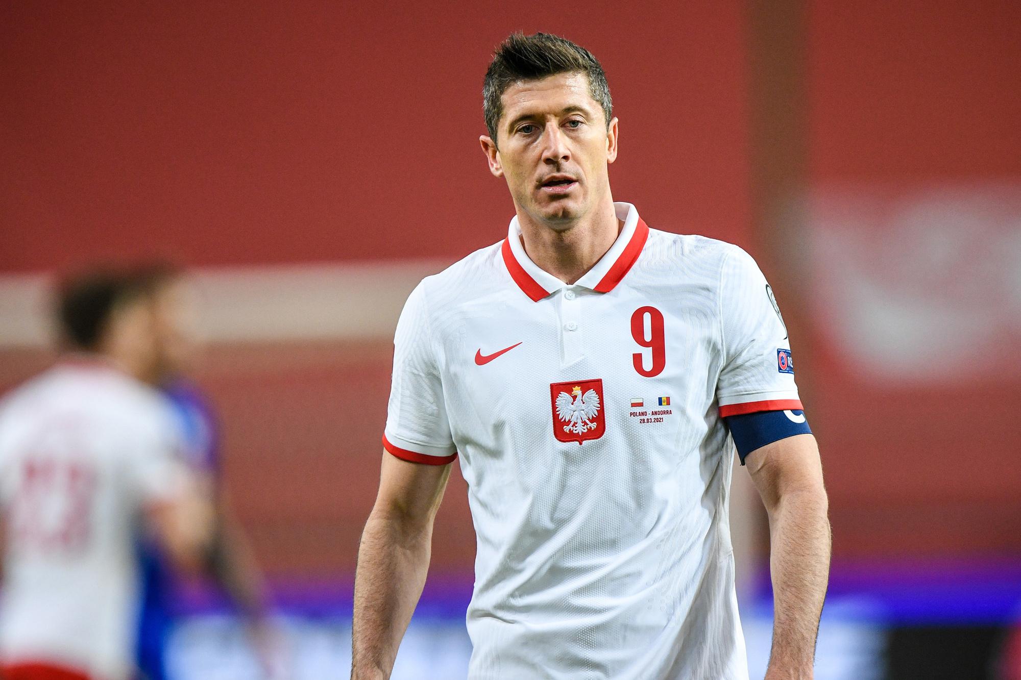 Er is één man naar wie iedereen zal kijken bij Polen: Robert Lewandowski, GETTY