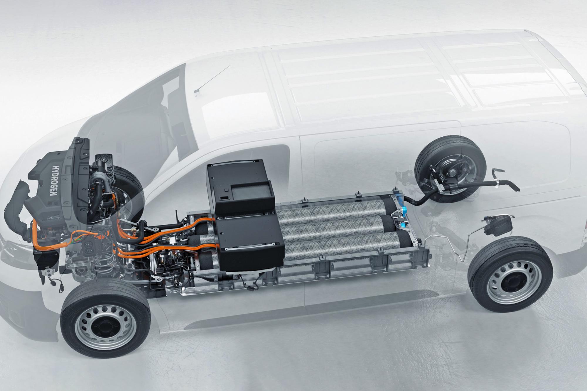"""Le hardware nécessaire à propulsion par hydrogène ne prend pas plus de place qu'un moteur électrique """"classique"""", GF"""