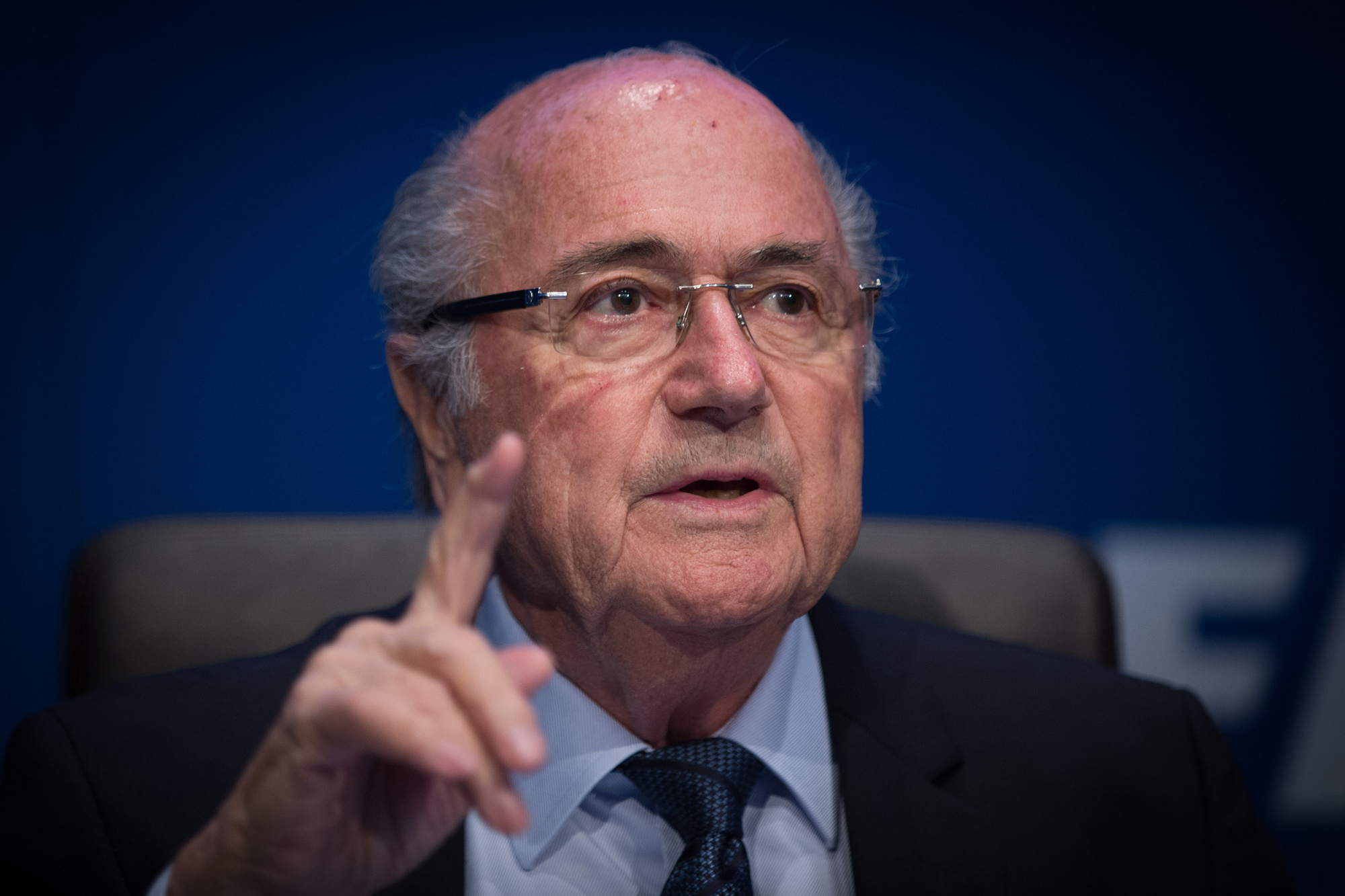 Sepp Blatter, Belga Image