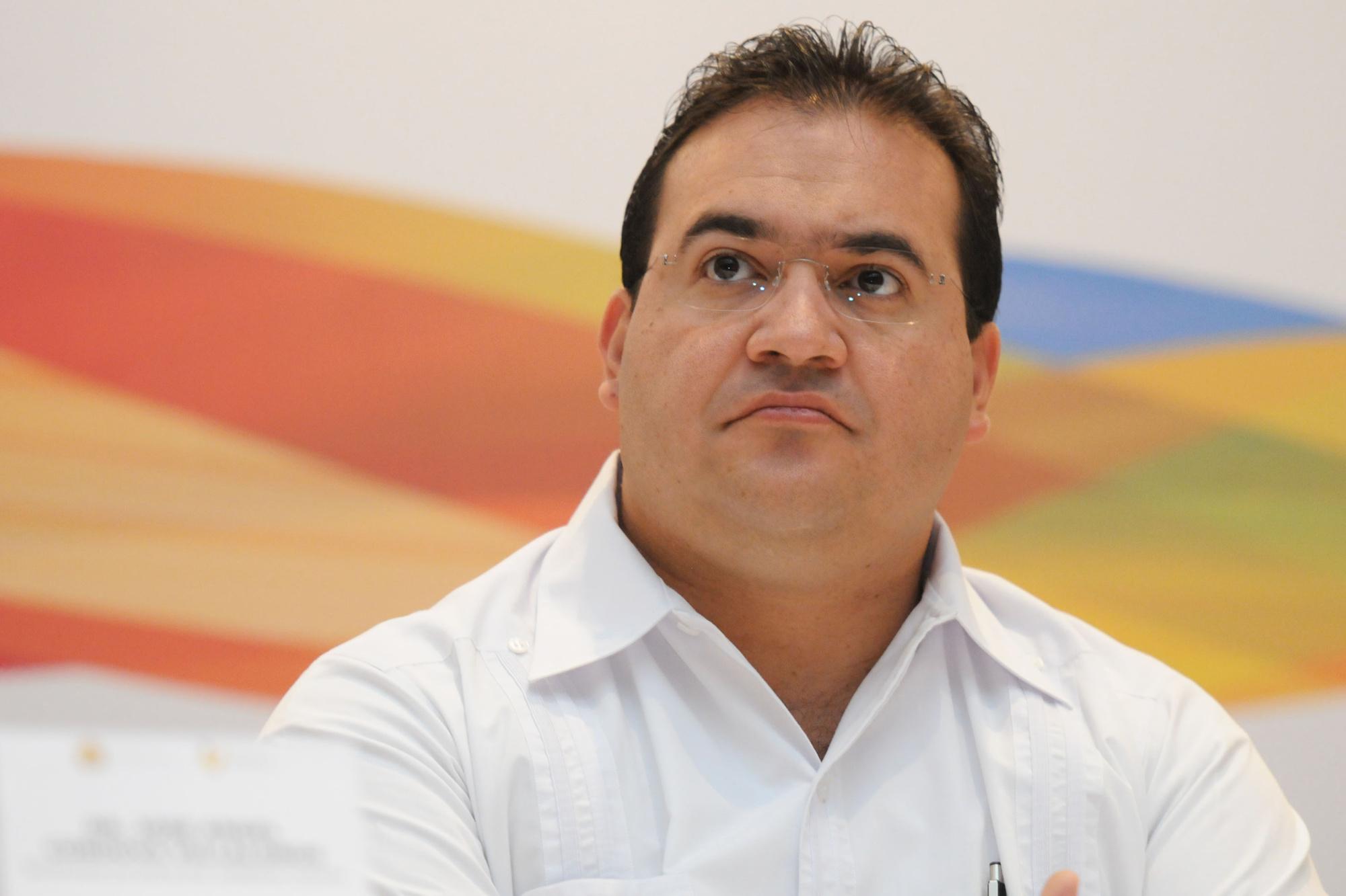 Javier Duarte, voormalig gouverneur van Veracruz., Proceso