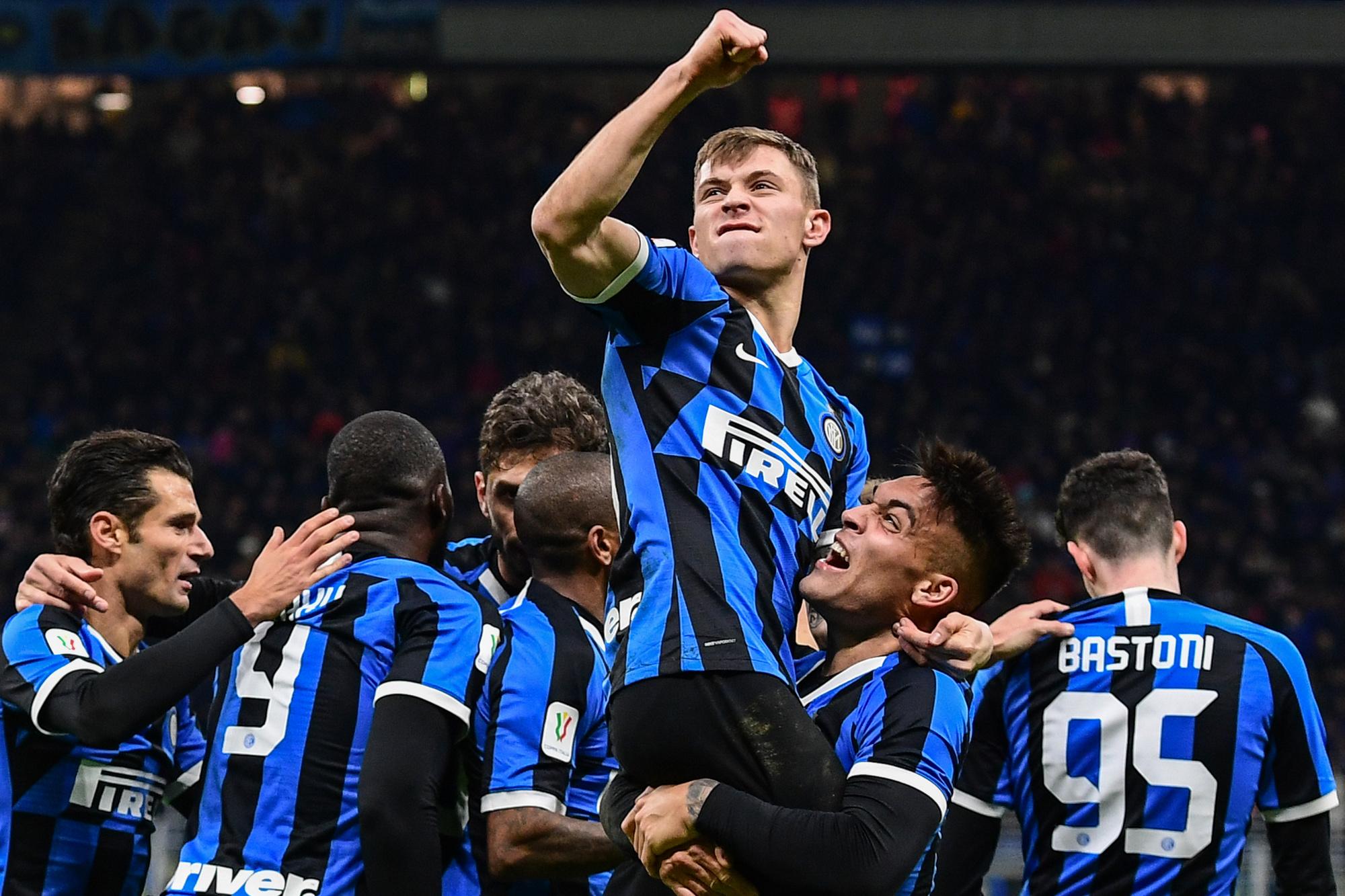 L'Inter veut s'offrir une nouvelle coupe européenne., AFP