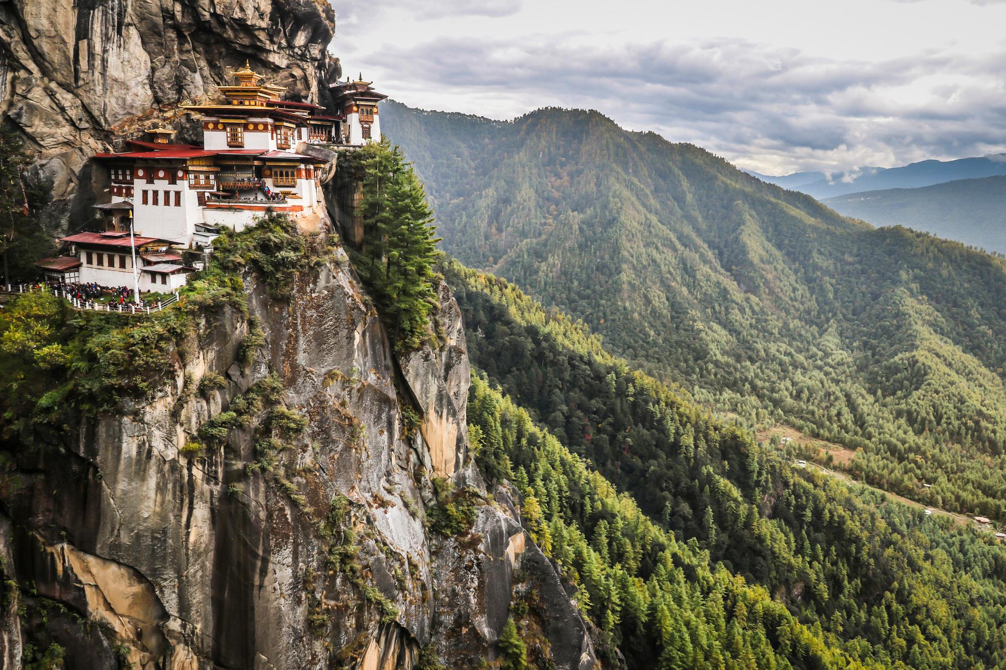 Onderweg passeerde Alexandra David verschillende kloosters, die er gelijkaardig uitzien als dit klooser op de foto. , Getty Images