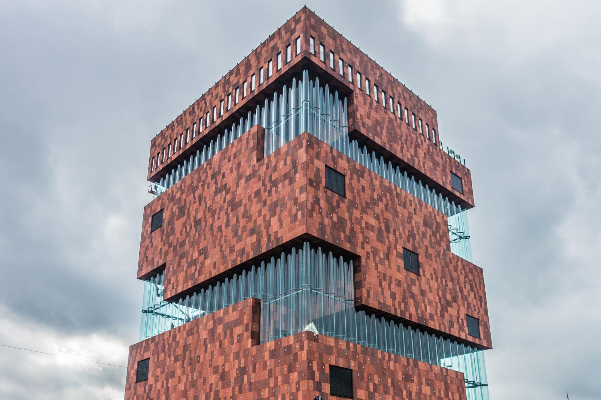 MAS Antwerpen, Neutelings Riedijk Architecten, iStock