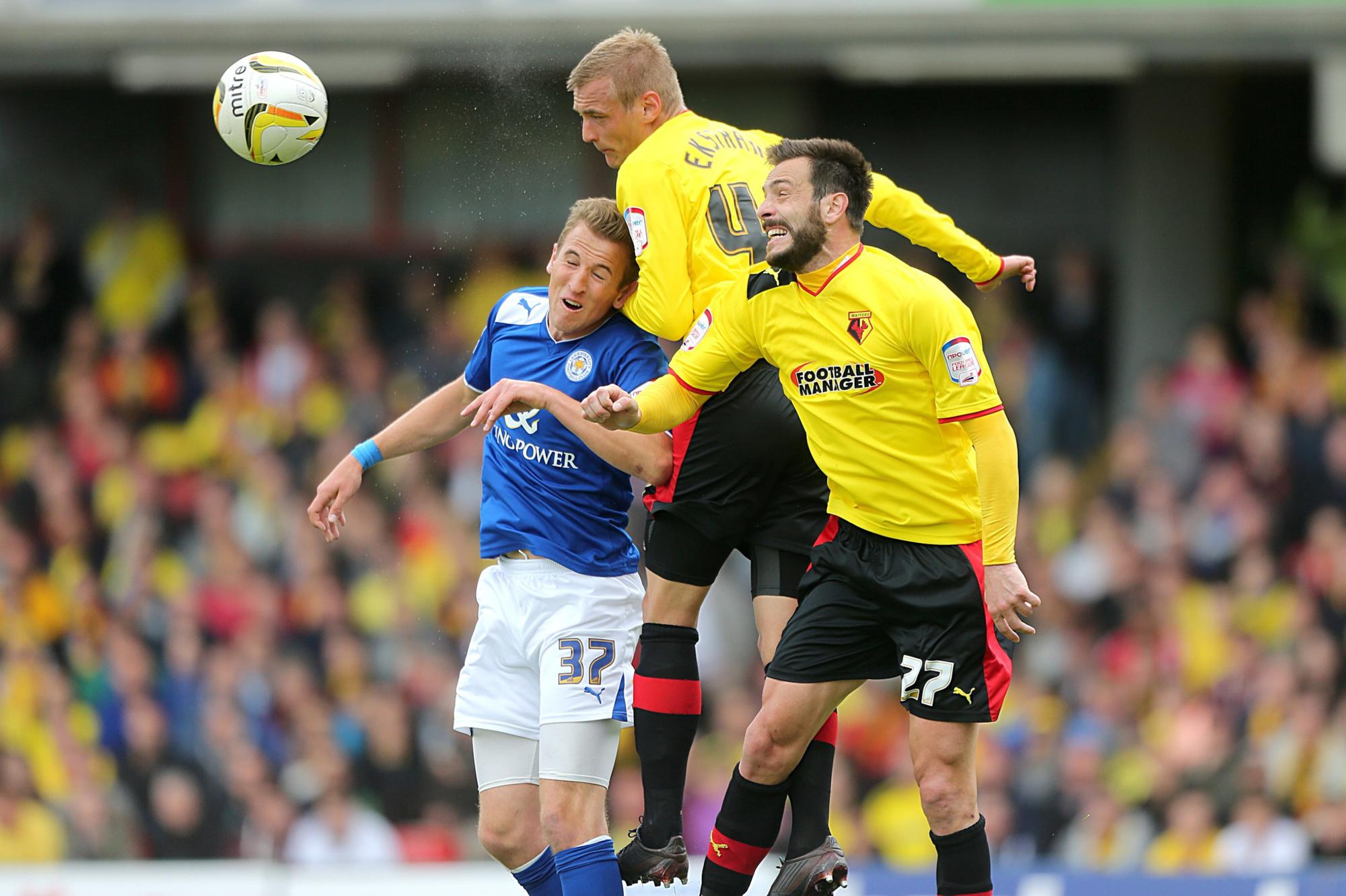 Watford - Leicester, avec un certain Harry Kane du côté des Foxes., belga