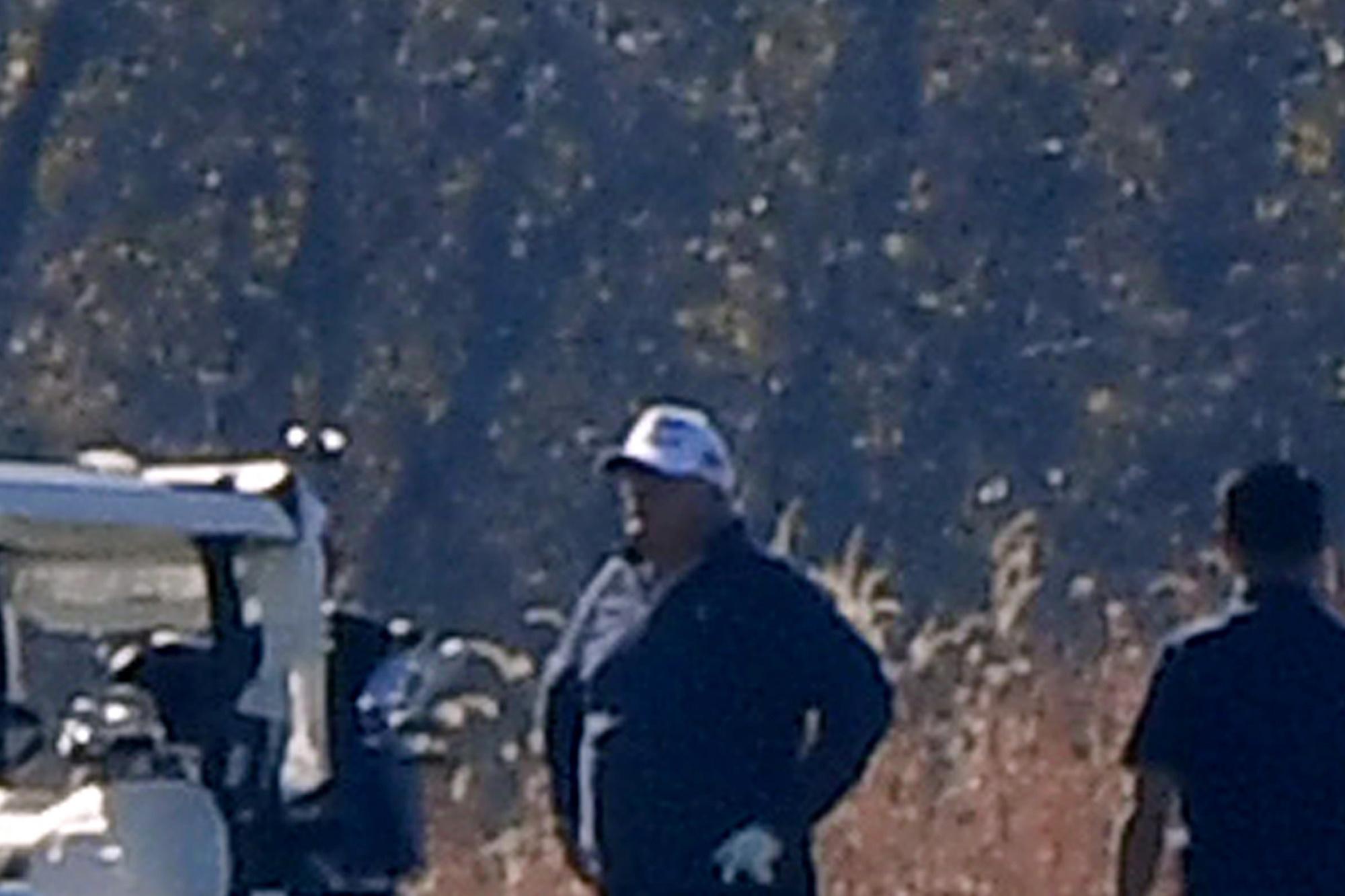 Trump était en pleine partie de golf, AFP