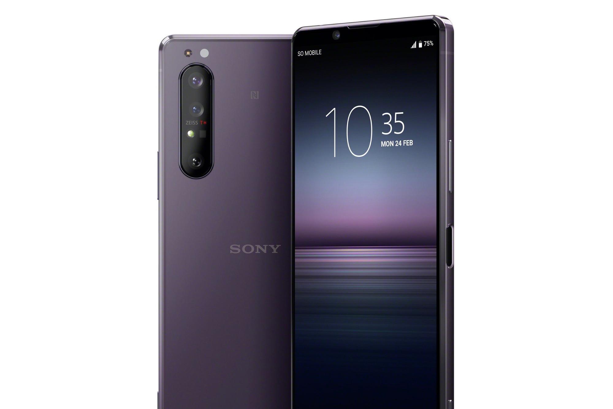 Sony Xperia 1 II, Sony