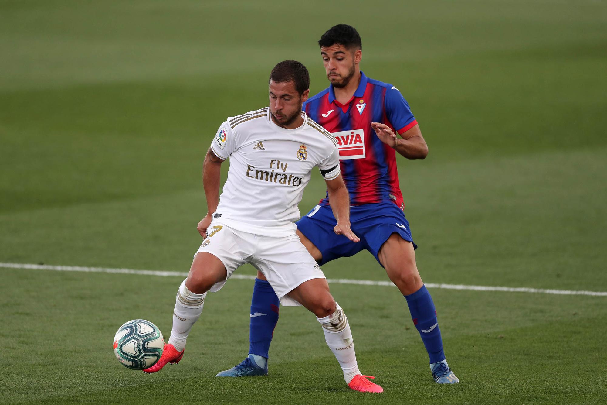 Door blessures heeft Madrid de echte Hazard nog niet kunnen bewonderen, GETTY
