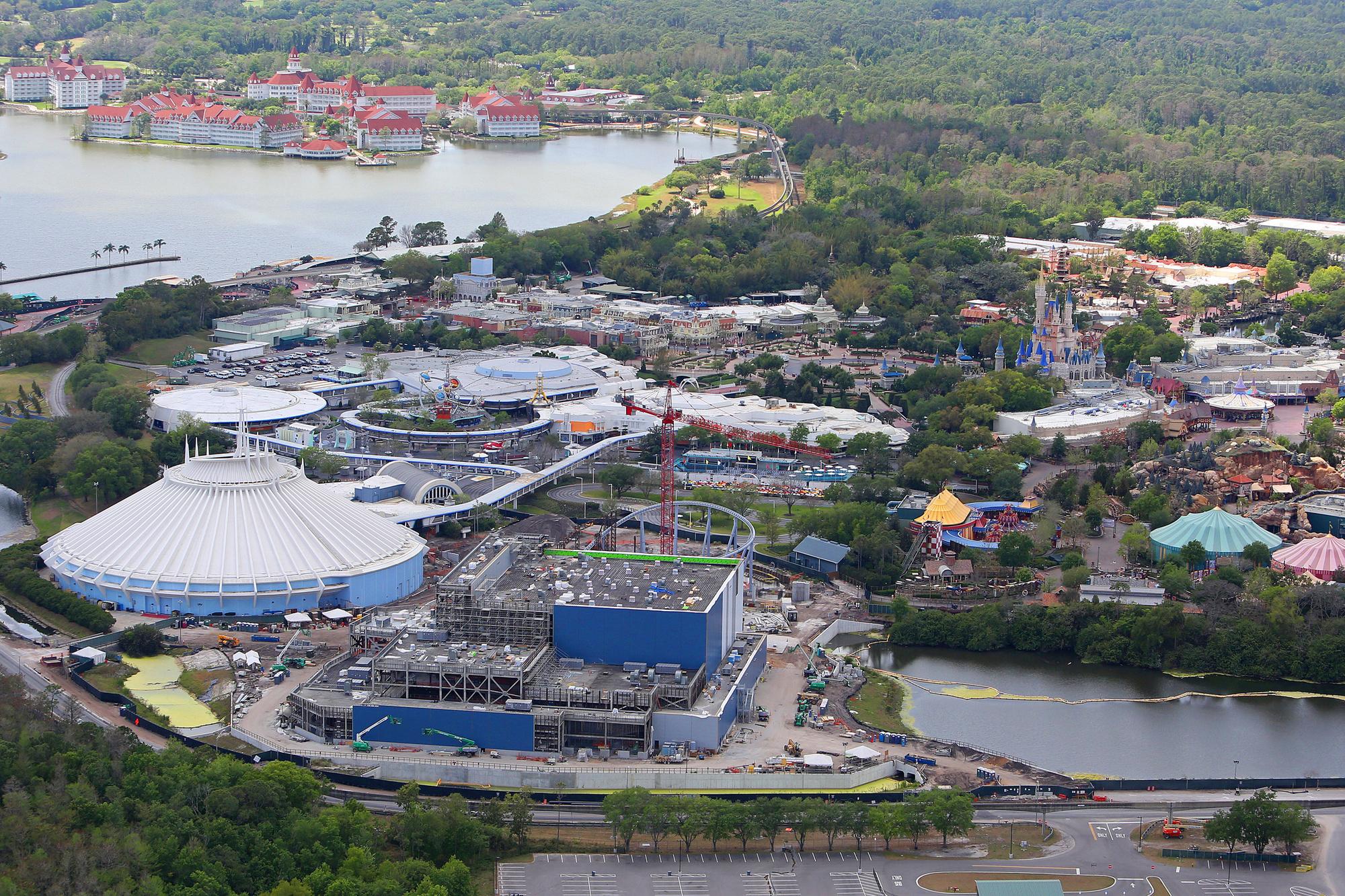 Disney World is een gigantisch complex waar alle NBA-teams onderdak kunnen vinden., GETTY