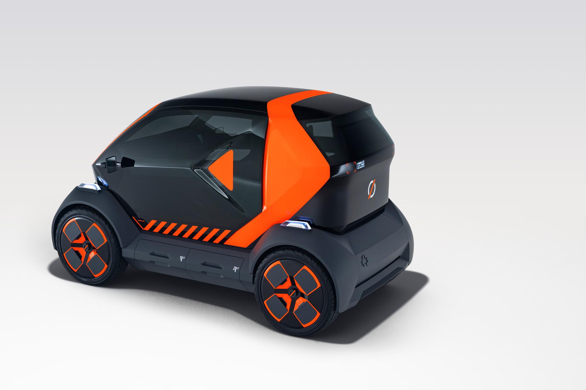 De elektrische Renault EZ-1, GF