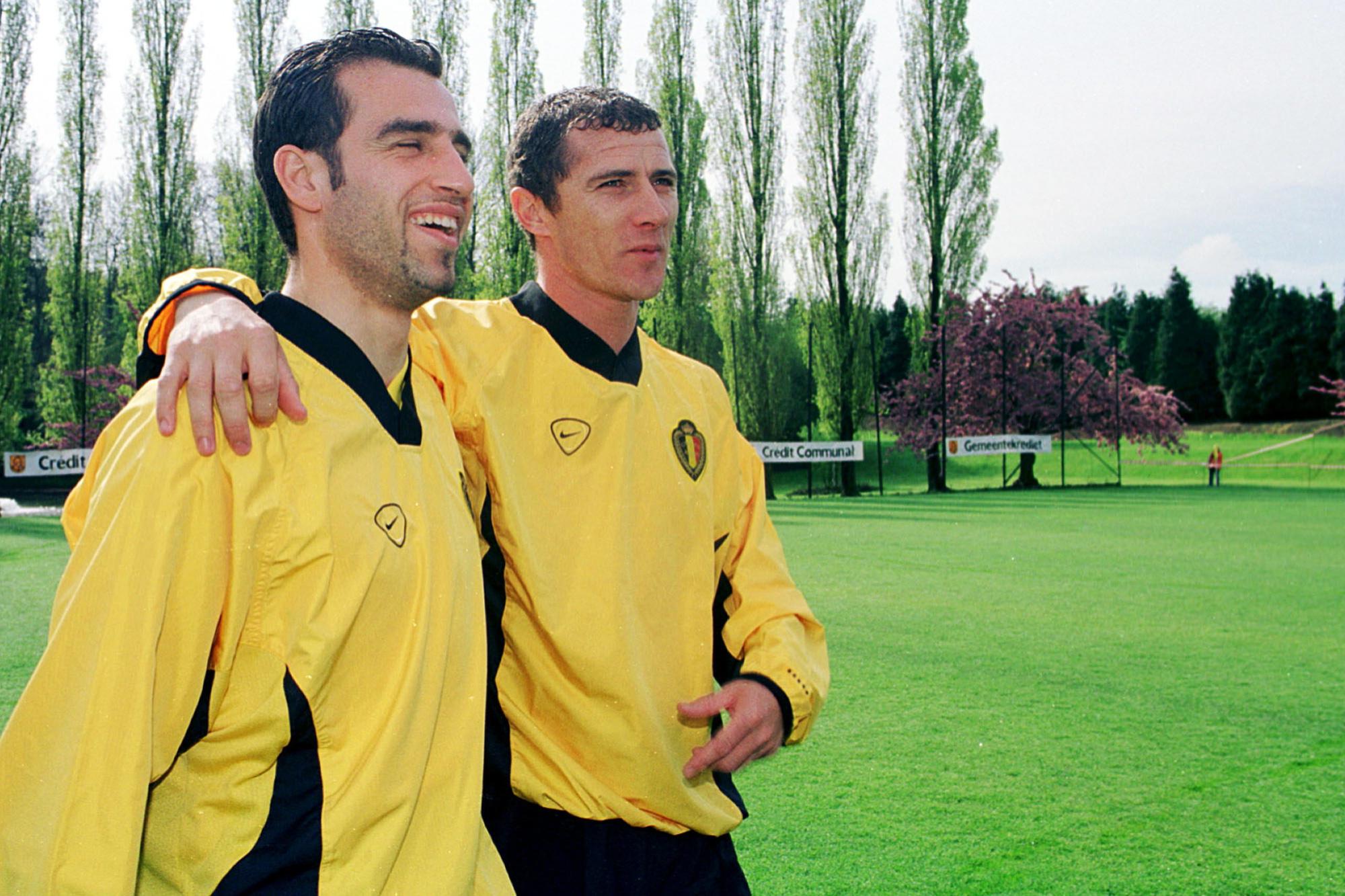 Danny Boffin et Toni Brogno sont les deux victimes des derniers choix de Robert Waseige avant l'EURO 2000., Belga