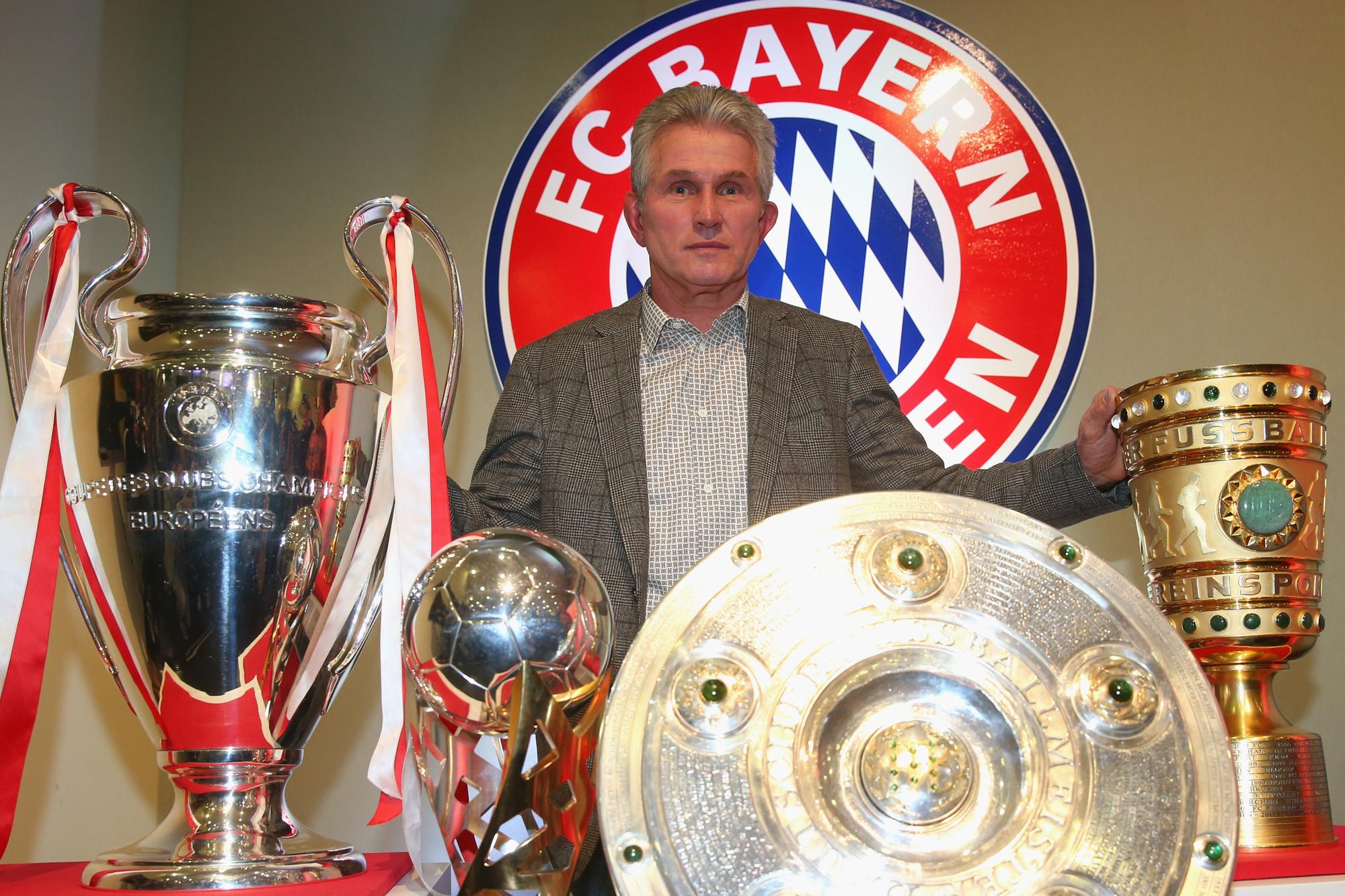 Jupp Heynckes kende in 2013 een boerenjaar met Bayern München., GETTY