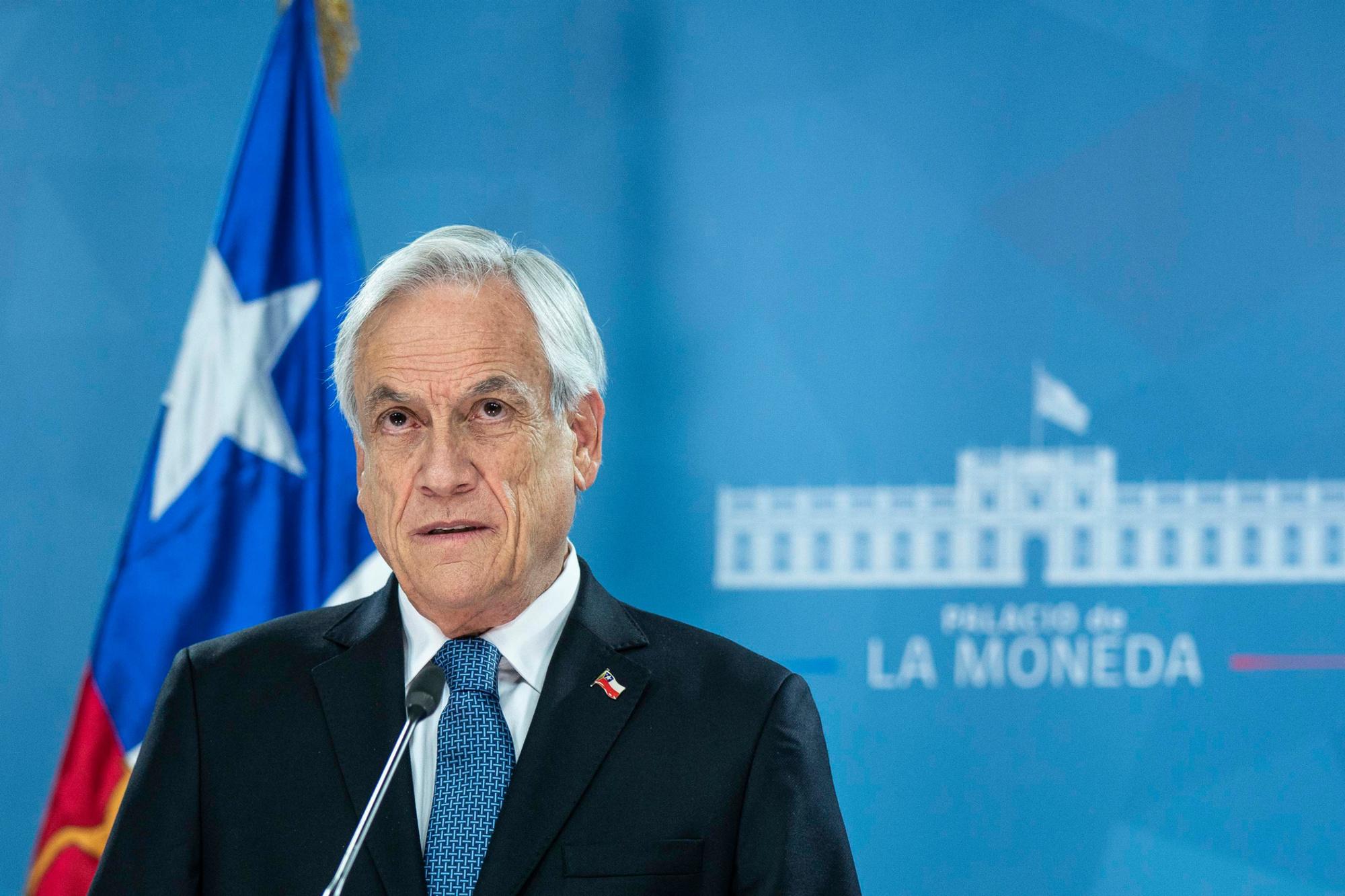 Sebastian Piñera, BELGA IMAGE