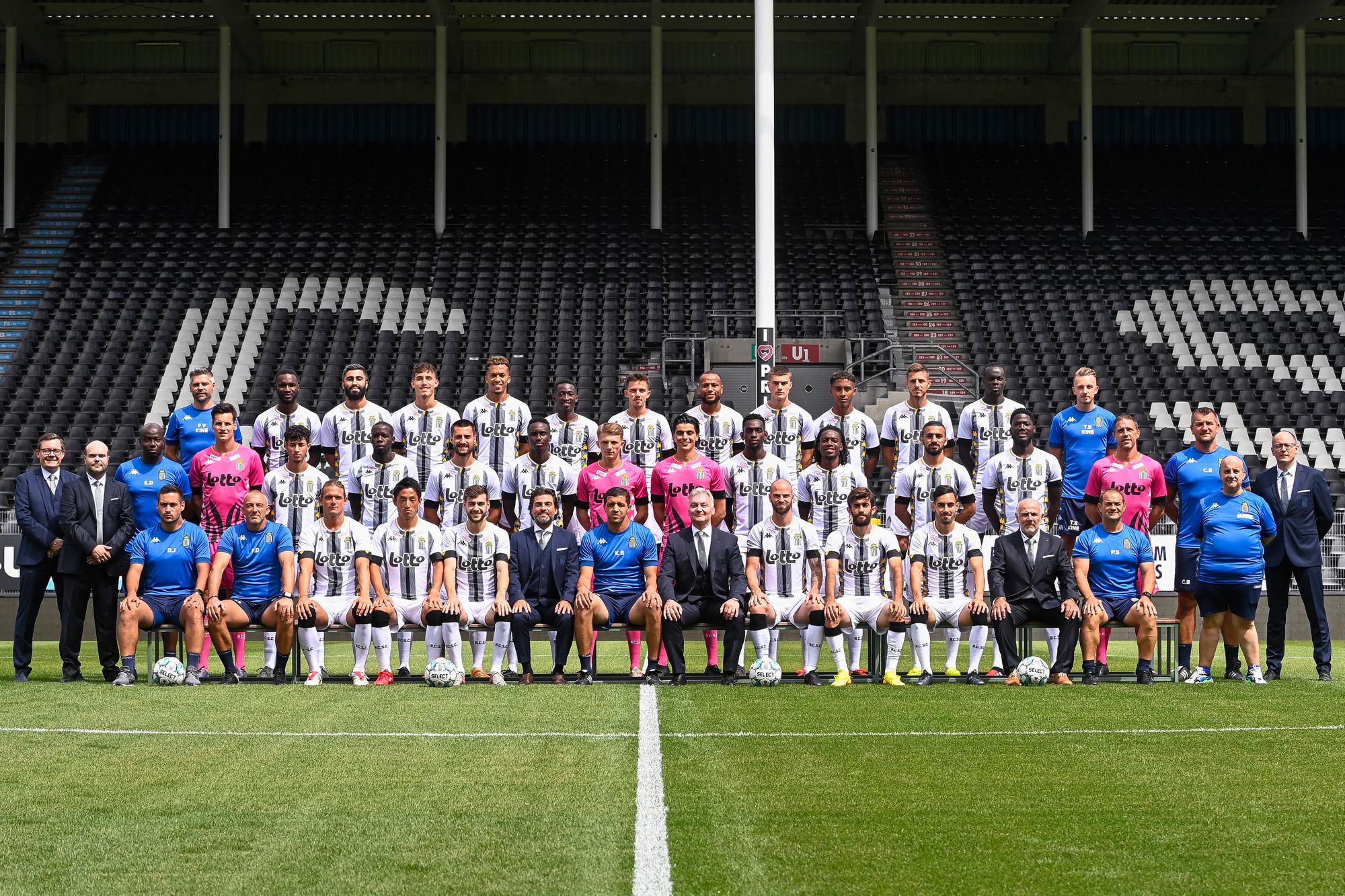 L'équipe du Sporting de Charleroi 2020-2021, BELGA