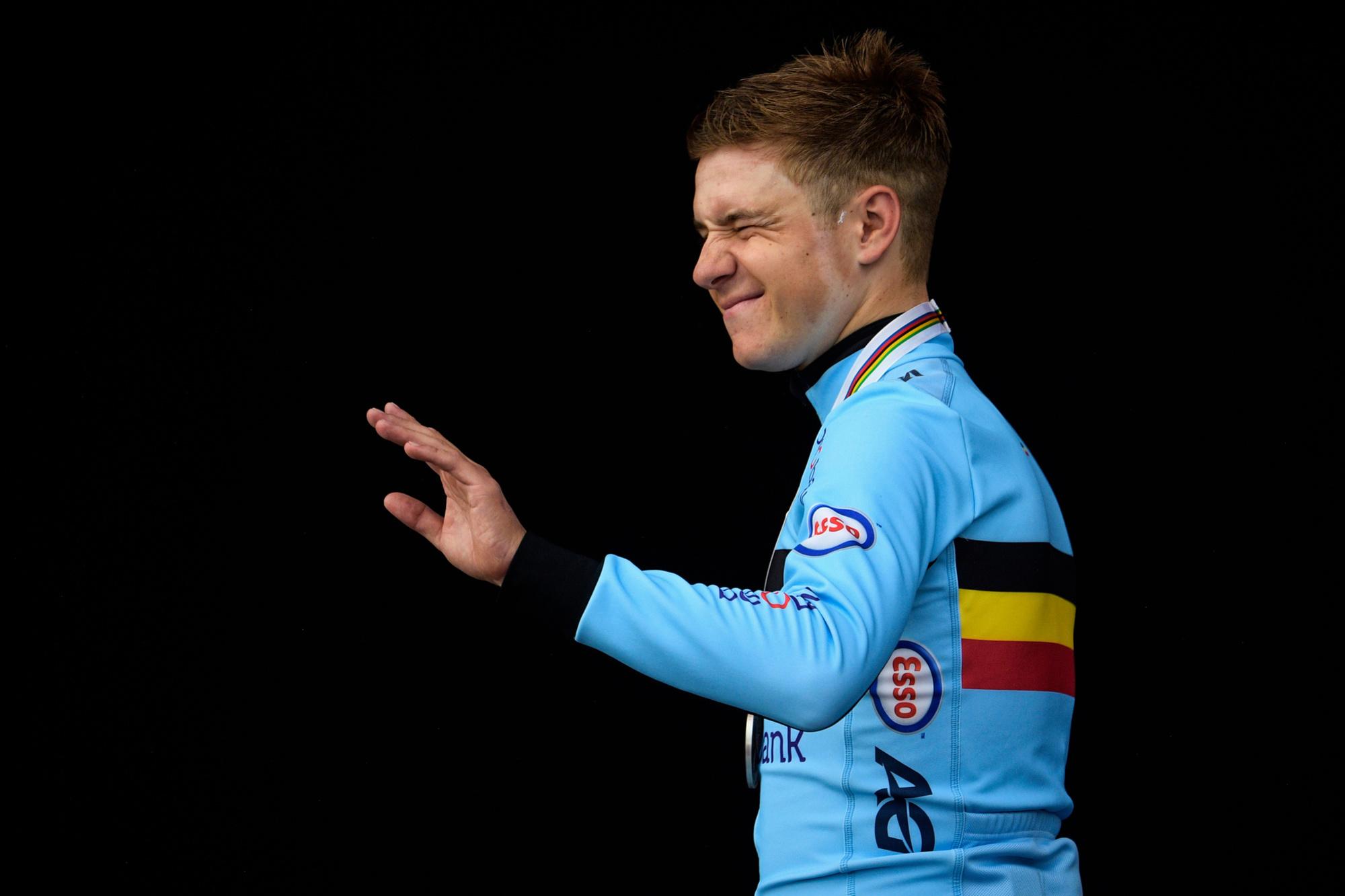 Op je 20 al gerekend worden bij de beste sporters van de eeuw, ga er maar voor zitten, hoor., Belga Image