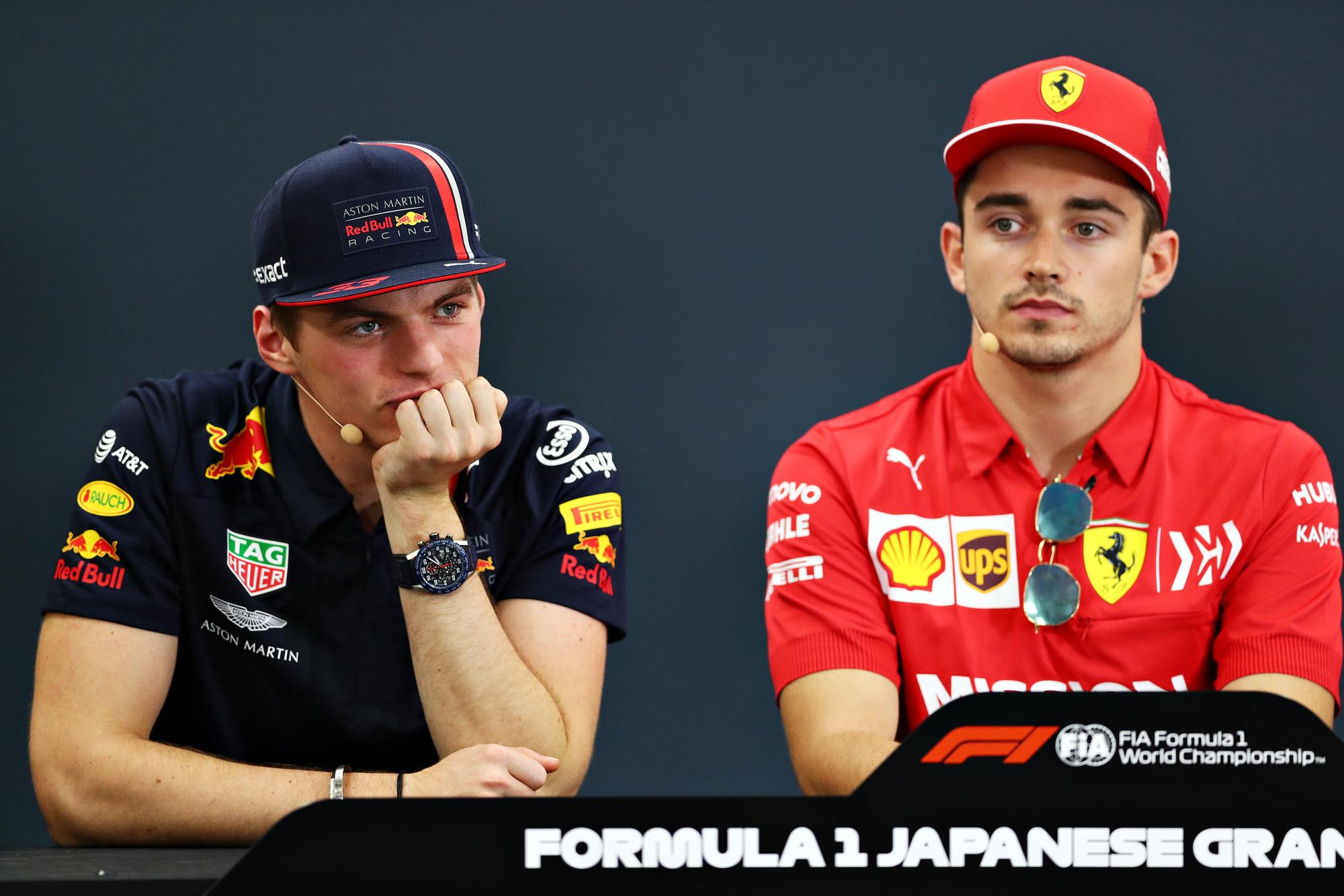 Wie wordt de grootste uitdager van Lewis Hamilton? Max Verstappen of Charles Leclerc?, GETTY